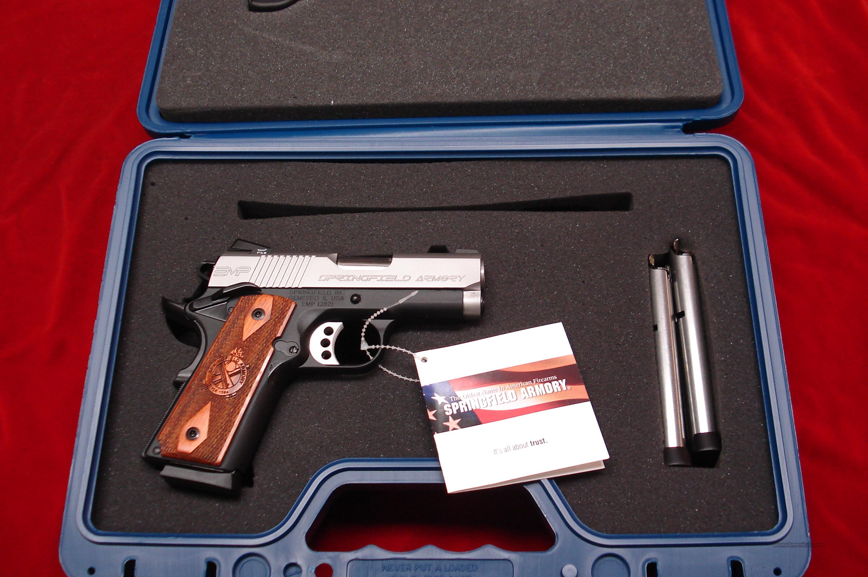 SPRINGFIELD ARMORY EMP MICRO-COMP. 9MM (PI9209LP) NEW  Guns > Pistols > Springfield Armory Pistols > 1911 Type