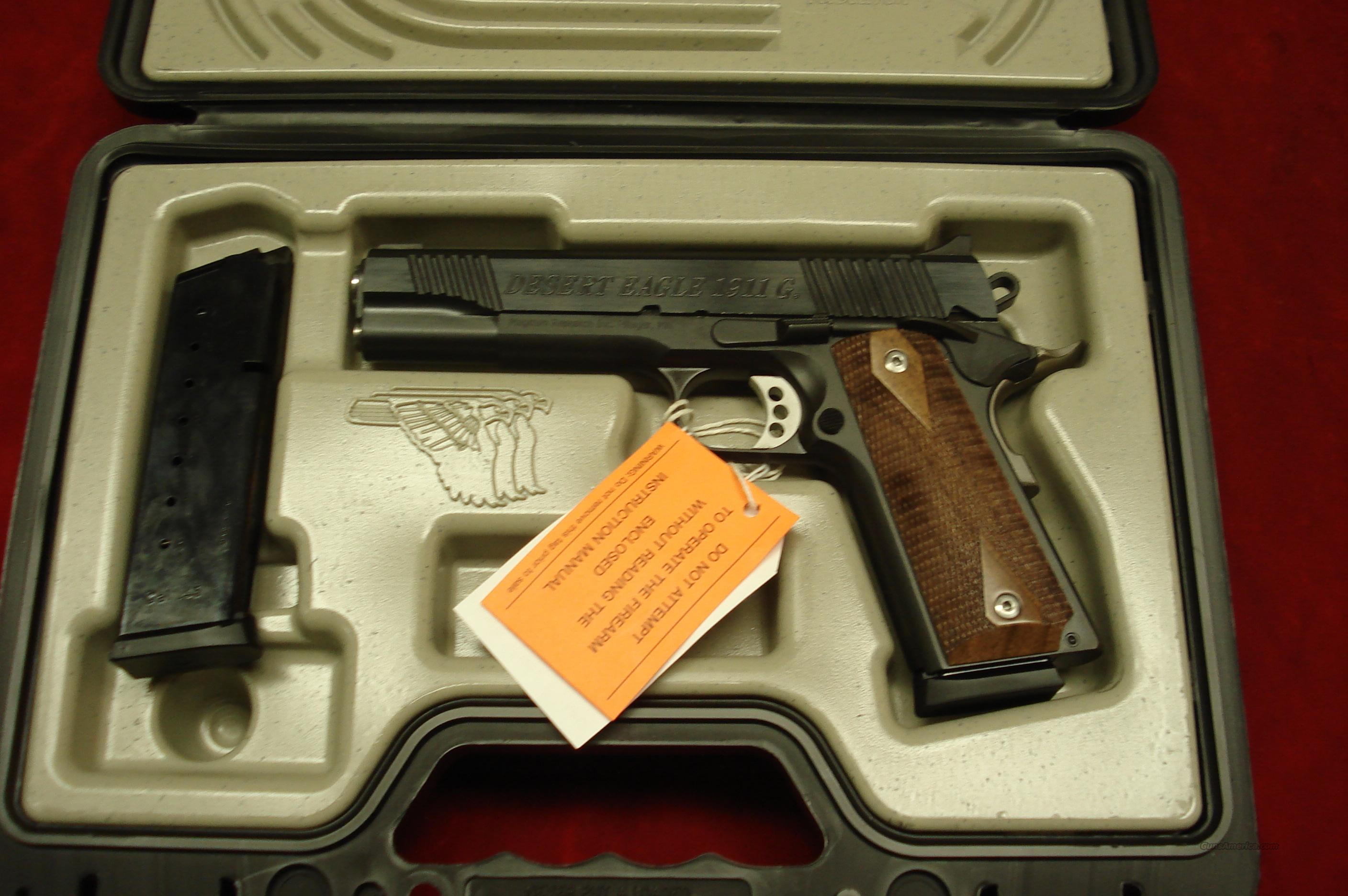MAGNUM RESEARCH DEASERT EAGLE 1911 45ACP NEW (DE1911G)  Guns > Pistols > Desert Eagle/IMI Pistols > Other