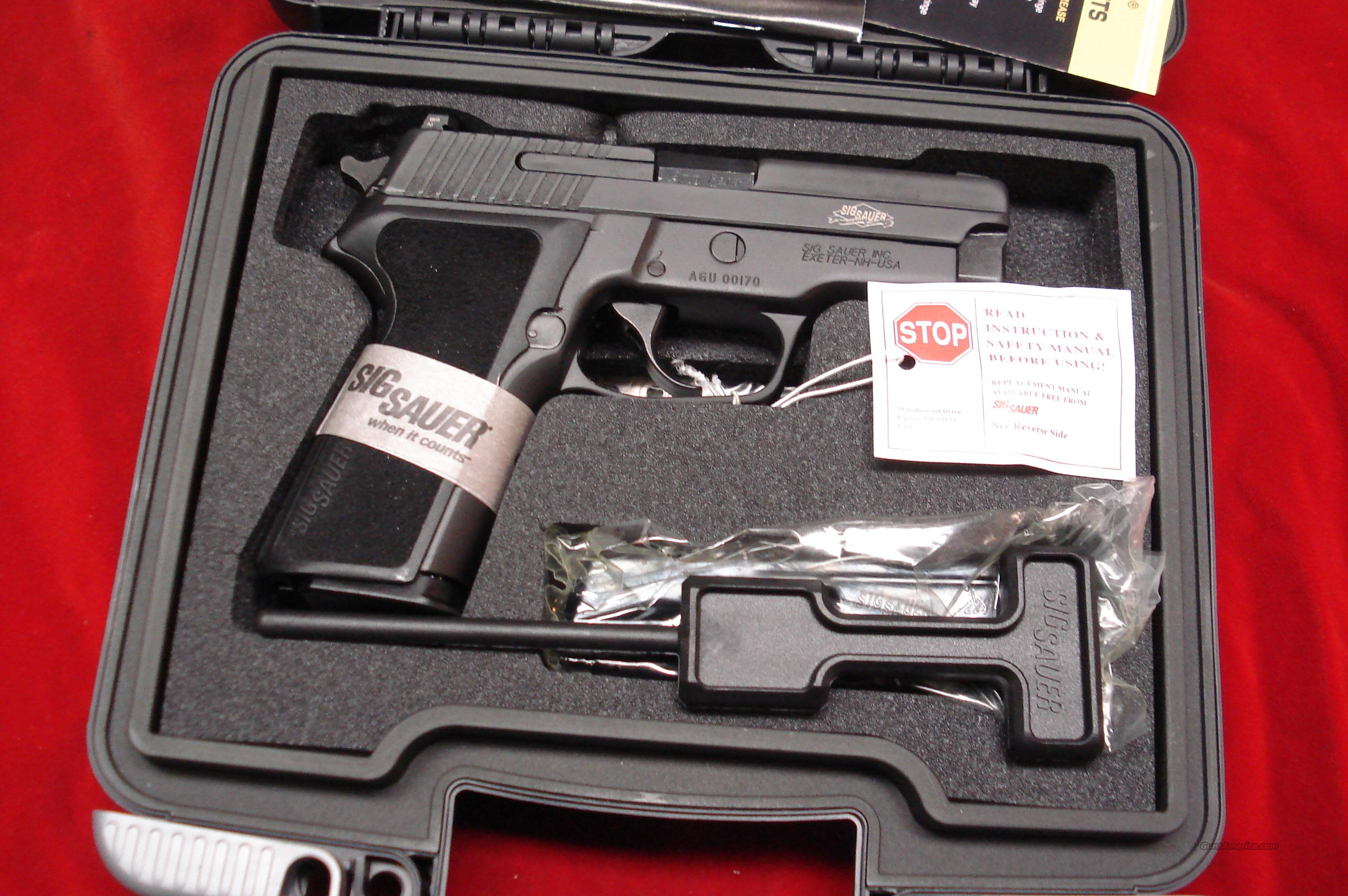 SIG SAUER P229 SAS GEN2 9MM WITH NIGHT SIGHTS NEW   Guns > Pistols > Sig - Sauer/Sigarms Pistols > P229