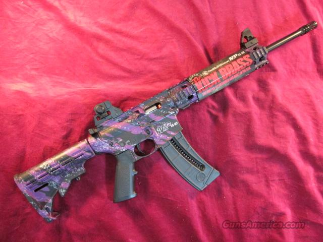 SMITH AND WESSON MP15-22 PURPLE PLATINUM W/ 25RND MAG  Guns > Rifles > Smith & Wesson Rifles > M&P