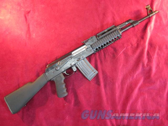 NORINCO MAC-90 BLACK SYNTHETIC .223/5.56 CAL W/ QUAD RAIL AND SLANT BREAK , TWO 30 ROUND AND ONE 20 ROUND MAG USED  Guns > Rifles > AK-47 Rifles (and copies) > Full Stock
