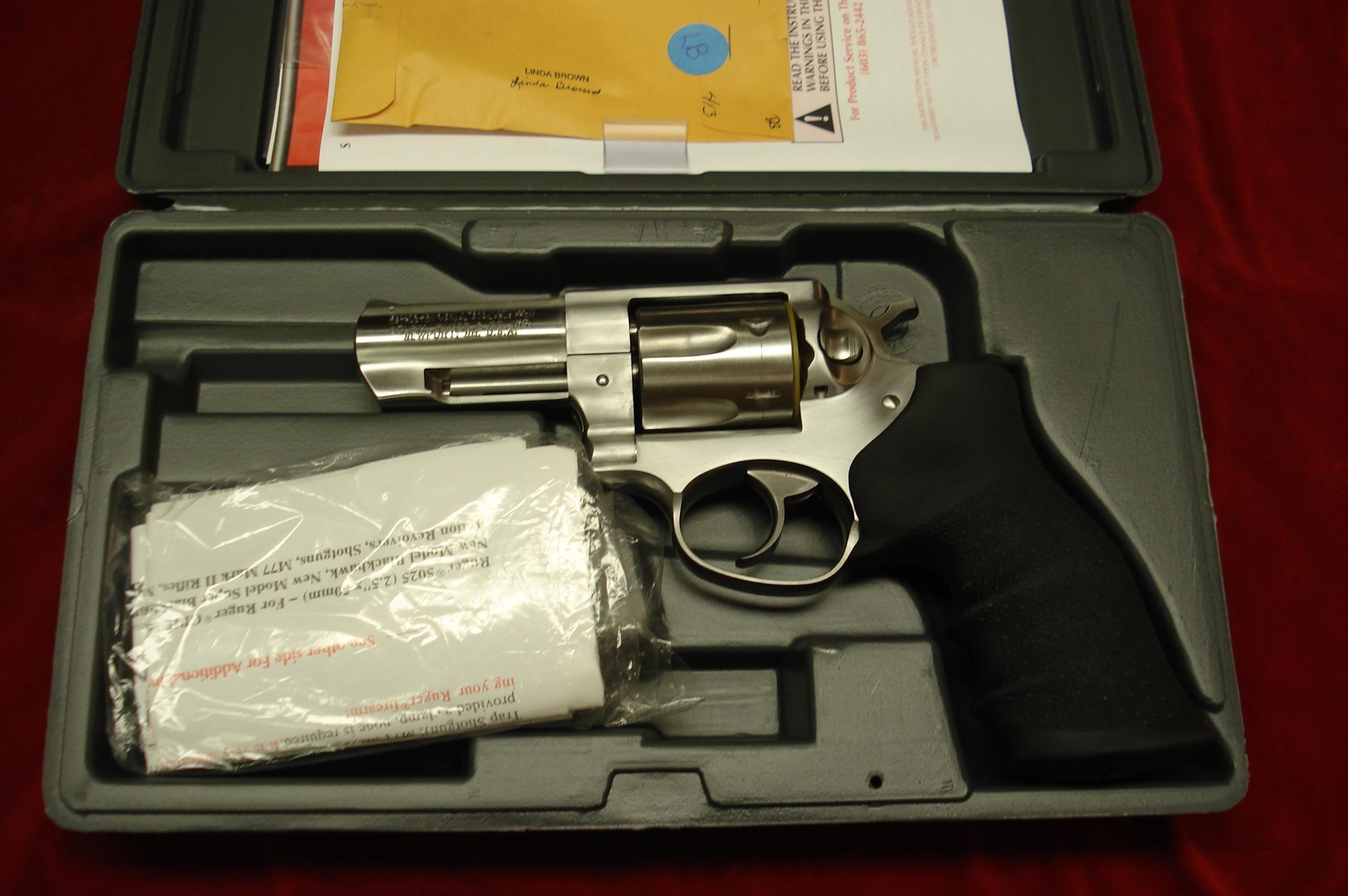 "RUGER GP100 357MAG 3"" STAINLESS NEW (KGPF-331)  Guns > Pistols > Ruger Double Action Revolver > Security Six Type"