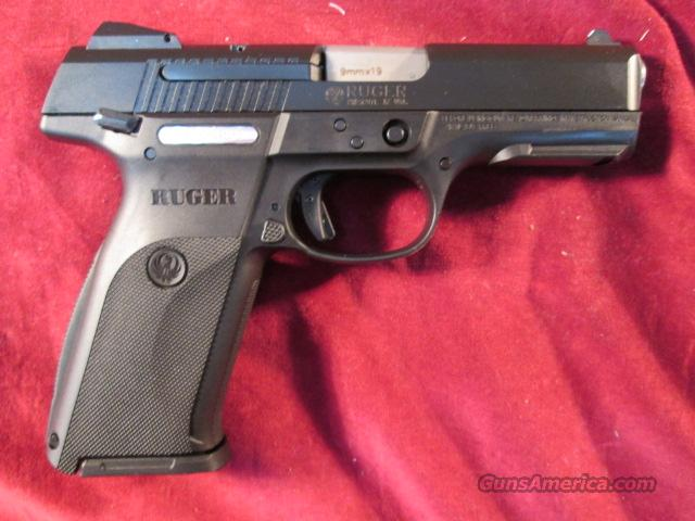 RUGER SR9 9MM FULL SIZE ,BLACK NEW 03321  Guns > Pistols > Ruger Semi-Auto Pistols > SR9 & SR40