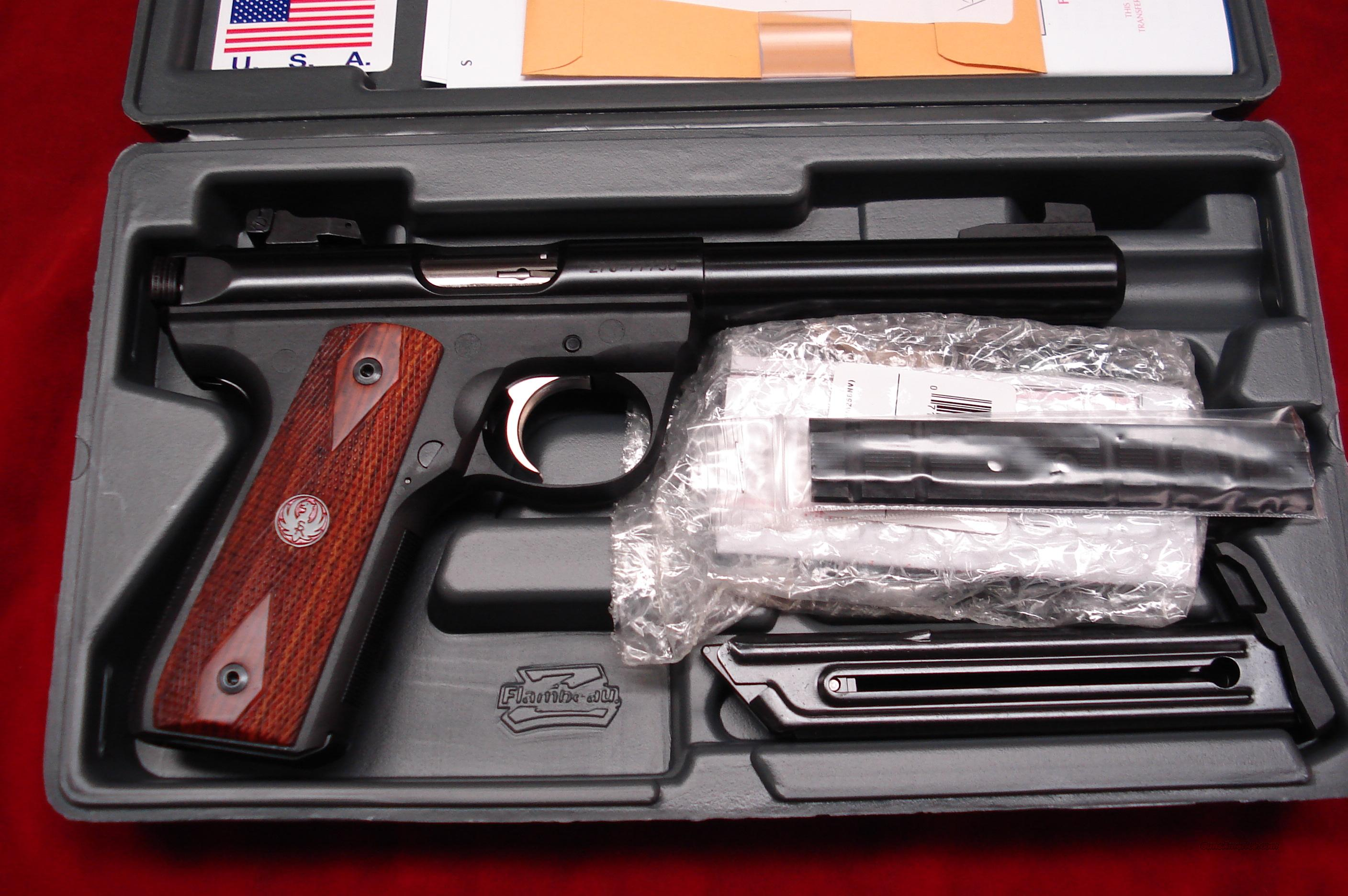 RUGER 22/45RP (REPLACEABLE PANELS) MKIII  BULL NEW (P512MKIIIRP)  Guns > Pistols > Ruger Semi-Auto Pistols > Mark I/II/III Family
