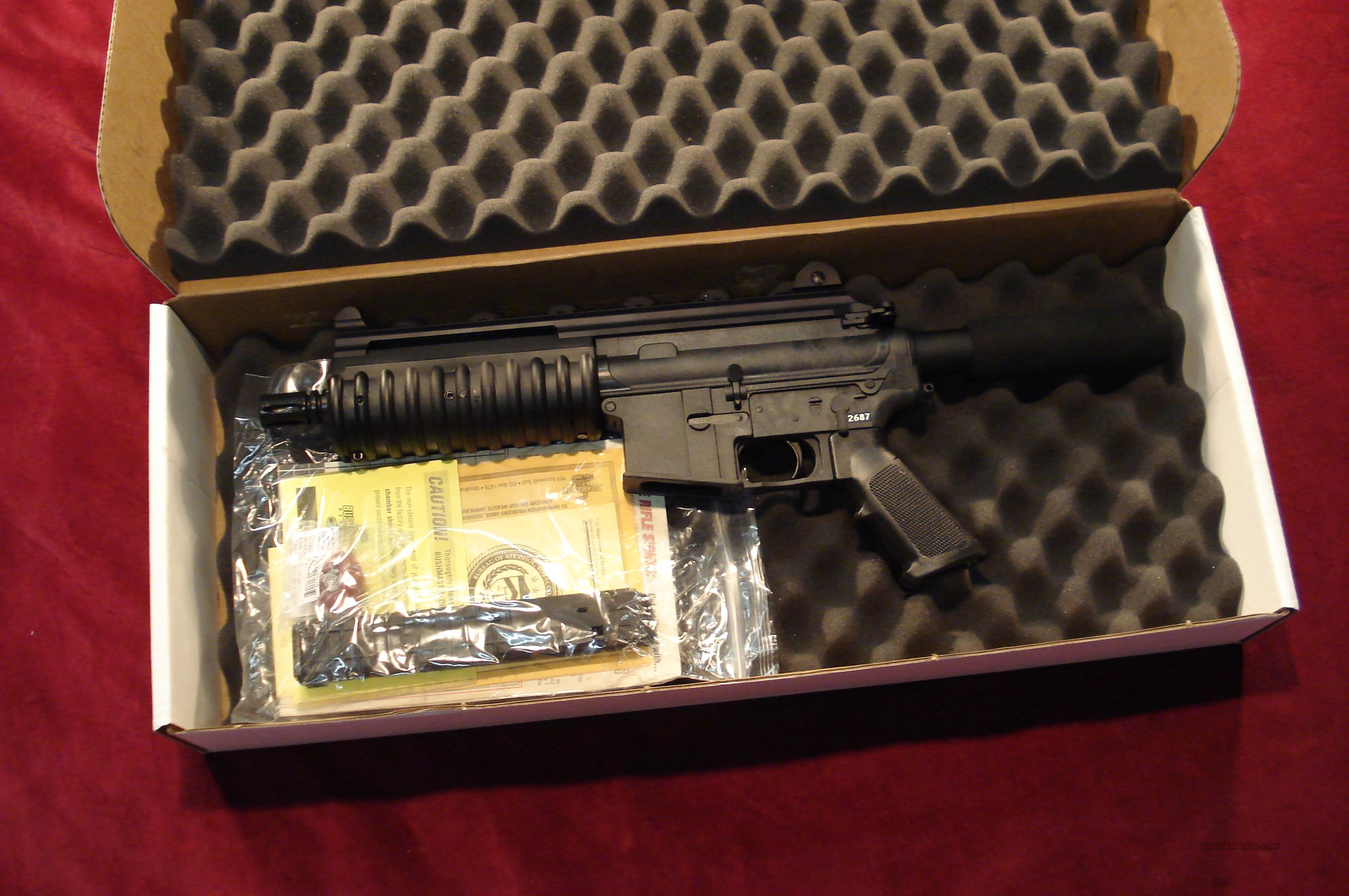 BUSHMASTER CARBON 15 9MM PISTOL NEW IN THE BOX  Guns > Pistols > Bushmaster Pistols