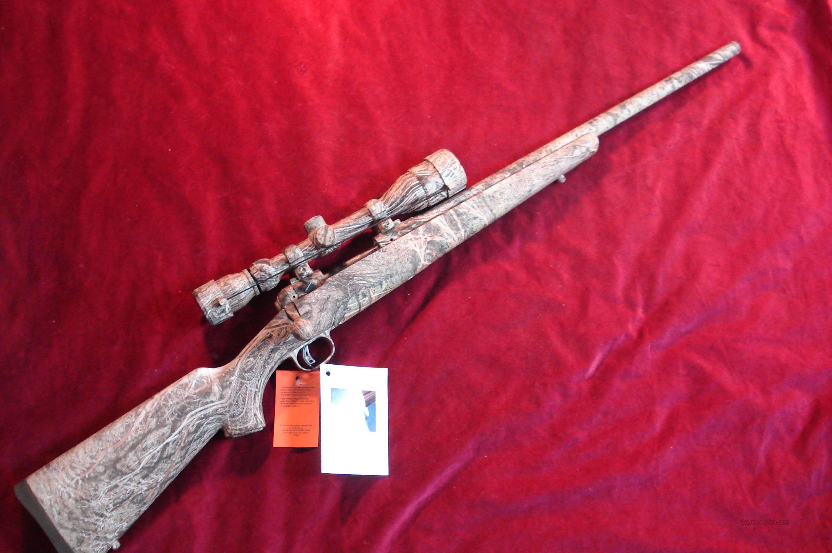 SAVAGE MODEL 10XP PREDATOR HUNTER MOSSY OAK BRUSH CAMO 22-250CAL. ACCUTRIGGER W/SCOPE NEW  Guns > Rifles > Savage Rifles > Accutrigger Models > Sporting