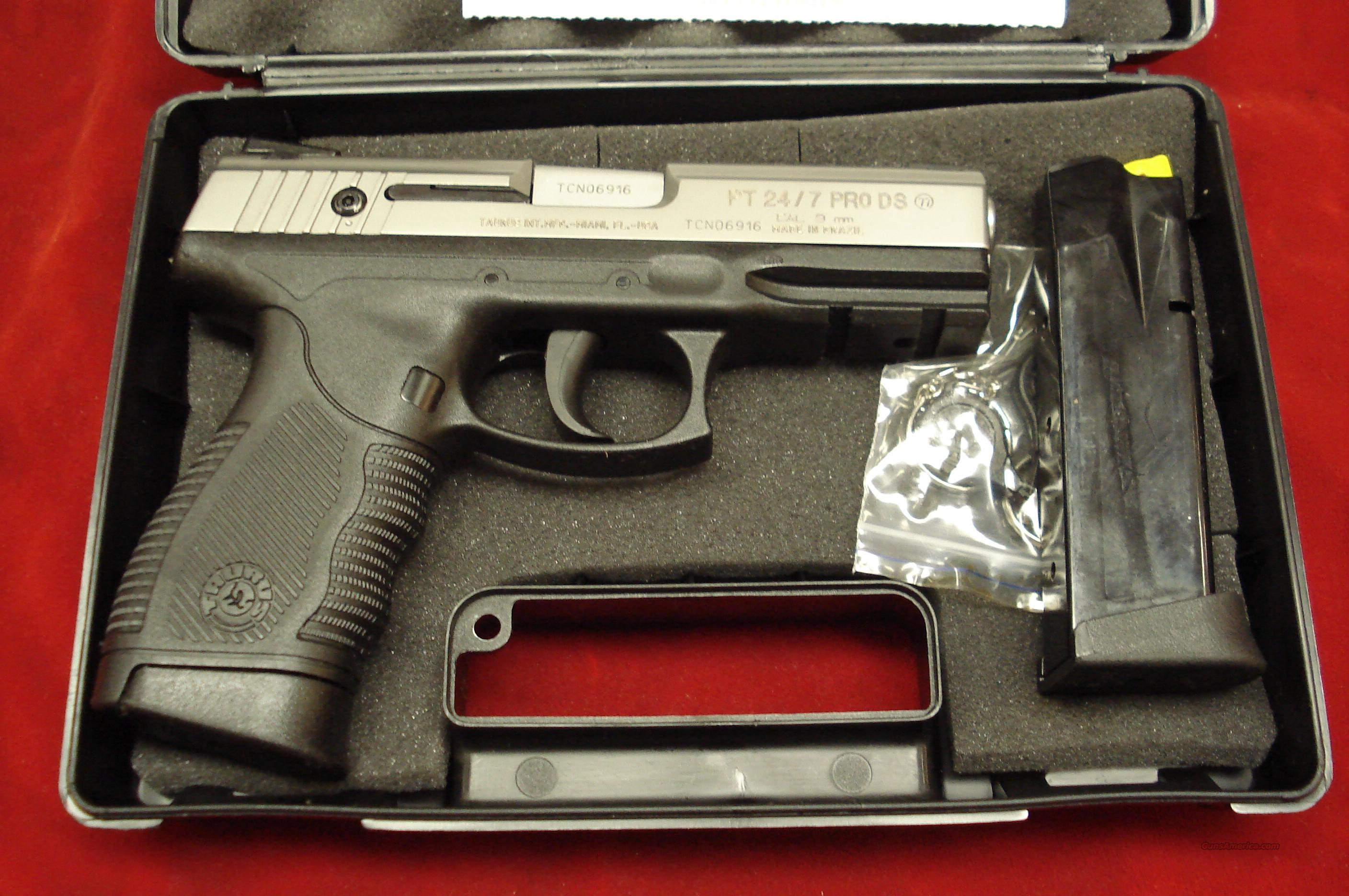 TAURUS PT24/7 PRO TITANIUM 9MM NEW IN THE BOX  Guns > Pistols > Taurus Pistols/Revolvers > Pistols > Polymer Frame