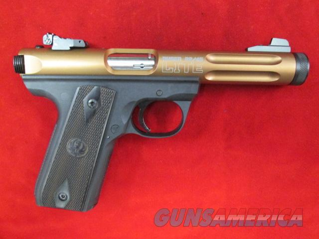 RUGER MKIII 22/45 LITE BRONZE  W/ THREADED BARREL NEW  Guns > Pistols > Ruger Semi-Auto Pistols > Mark I & II Family