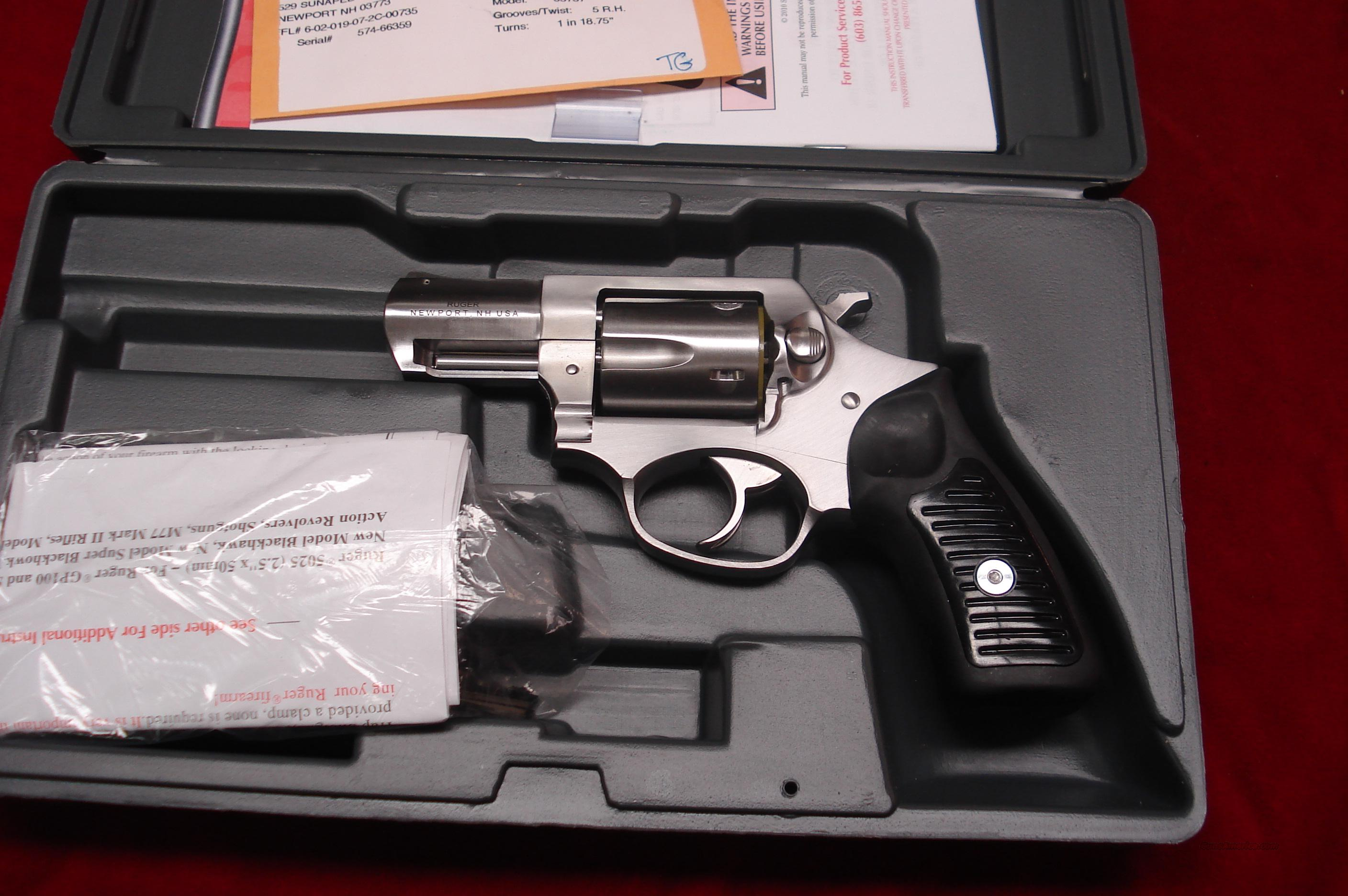RUGER SP101 STAINLESS 38SPL. (KSP-821X) NEW  Guns > Pistols > Ruger Double Action Revolver > SP101 Type