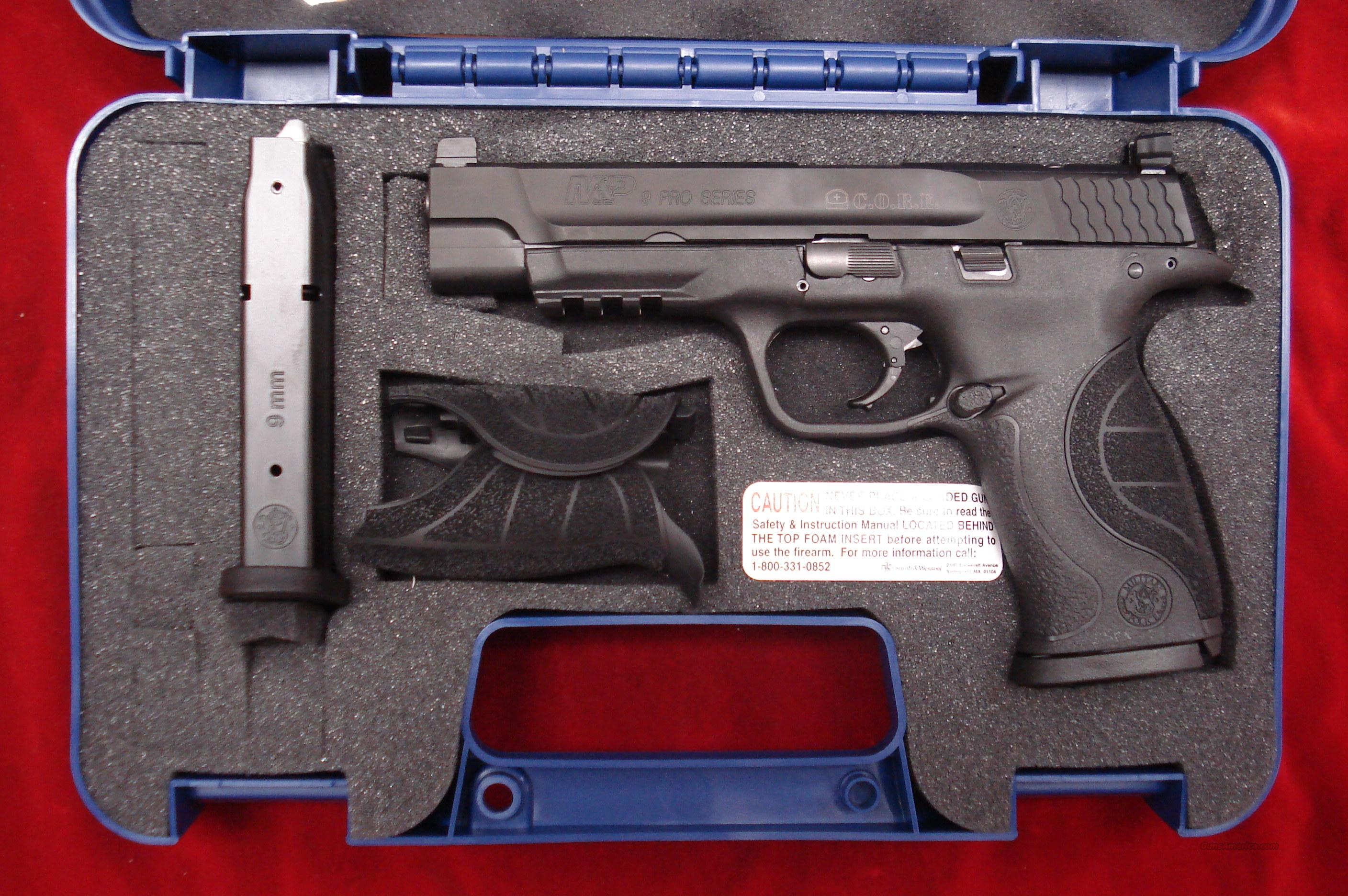 SMITH AND WESSON M&P PRO CORE 9MM NEW  Guns > Pistols > Smith & Wesson Pistols - Autos > Polymer Frame