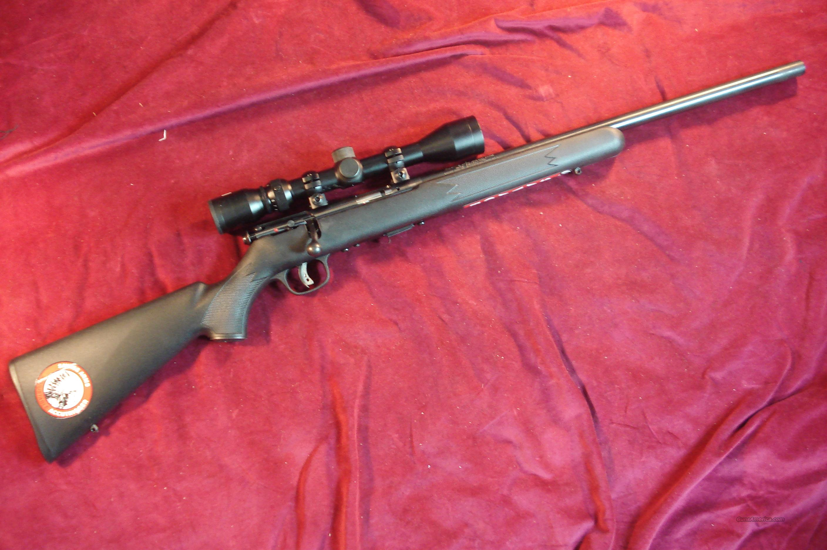SAVAGE MKII 22LR  BOLT ACTION W/SCOPE NEW  Guns > Rifles > Savage Rifles > Accutrigger Models > Sporting