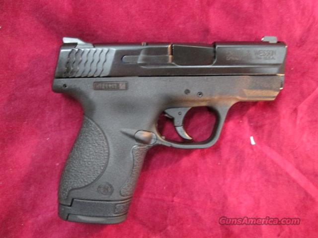 SMITH AND WESSON M&P SHIELD .40 CAL W/ NO MANUAL SAFETY NEW  (10034)   Guns > Pistols > Smith & Wesson Pistols - Autos > Polymer Frame
