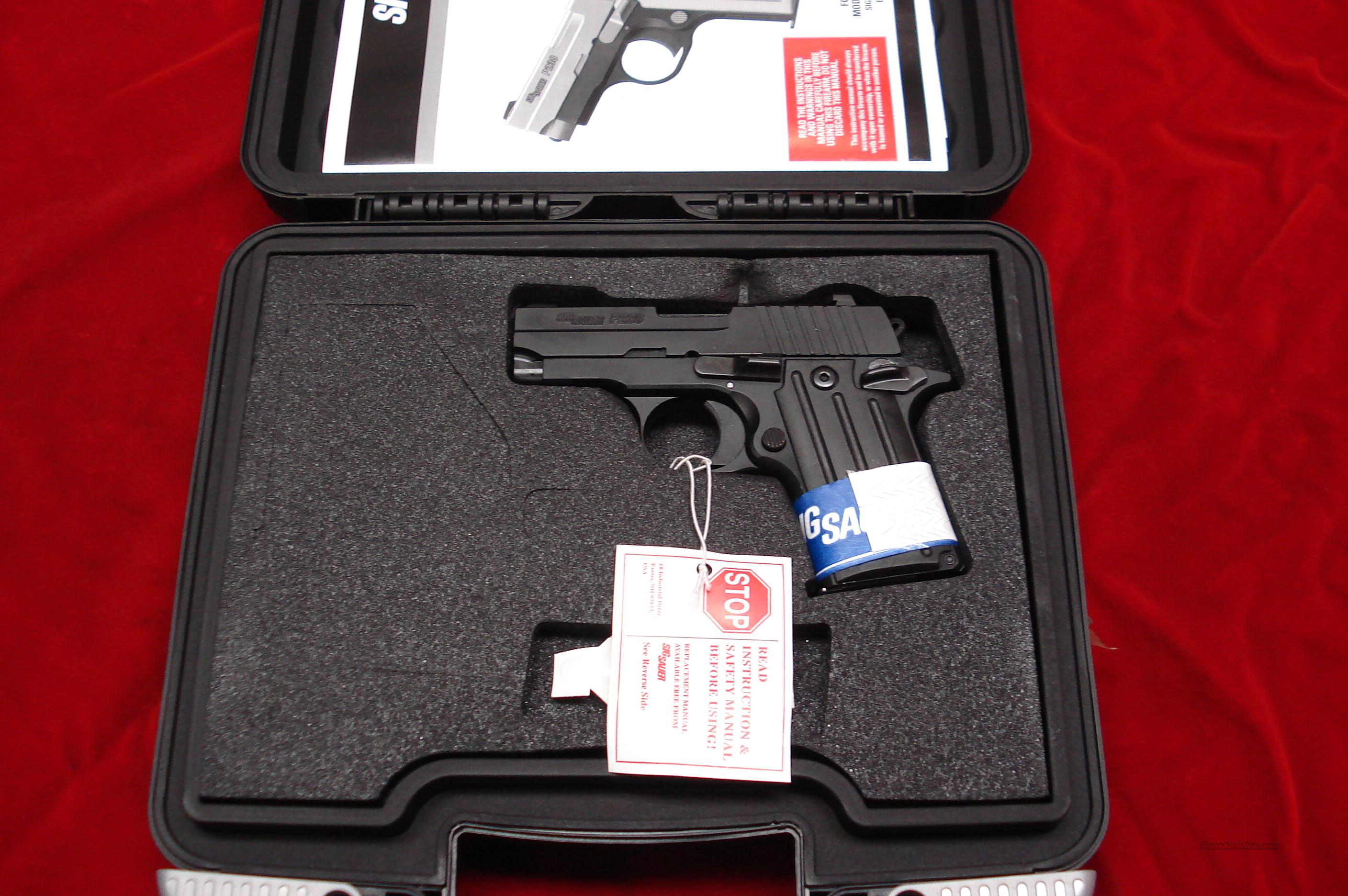 SIG SAUER P238 380CAL. MATTE BLACK NEW  Guns > Pistols > Sig - Sauer/Sigarms Pistols > Other