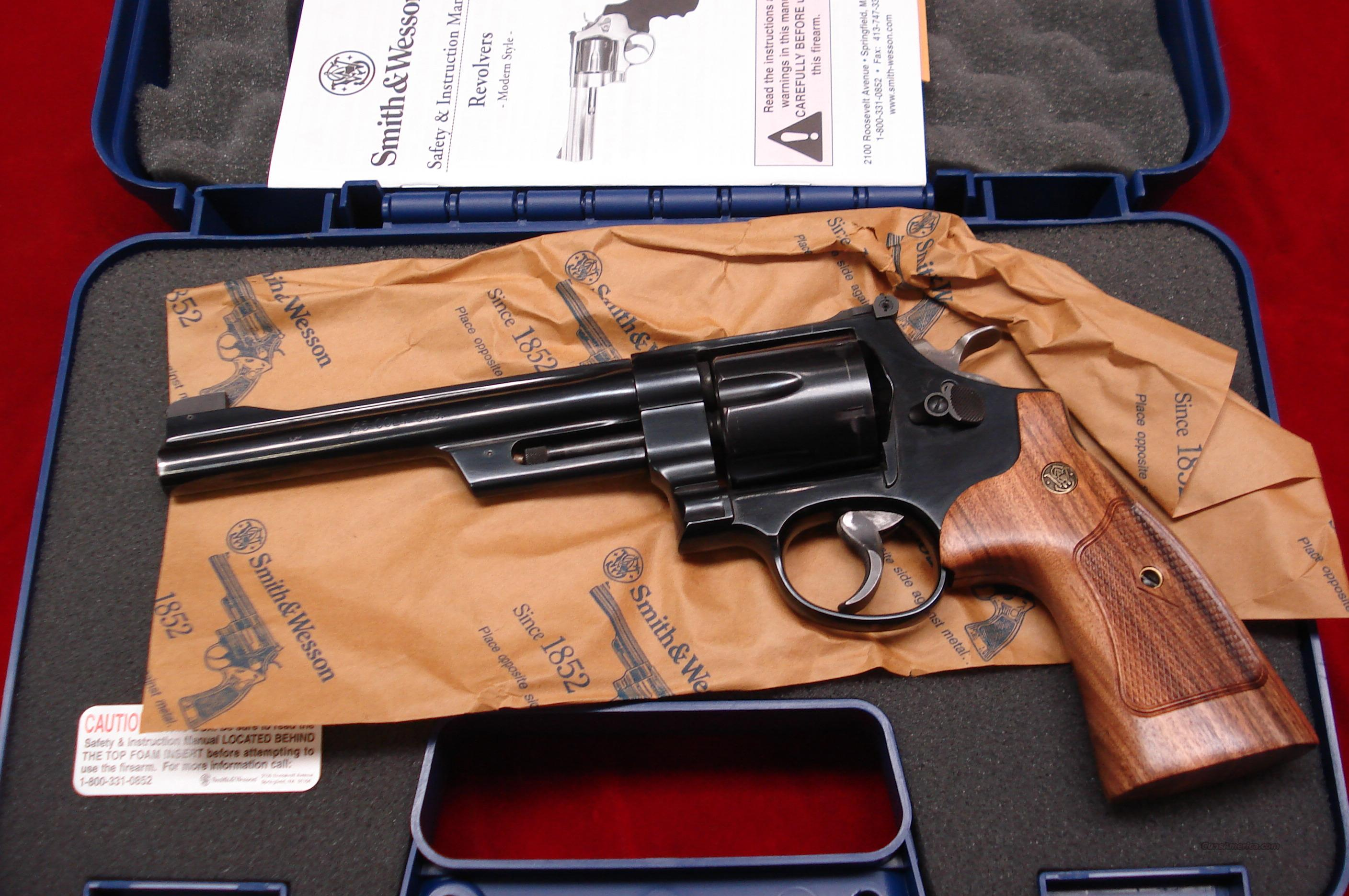 SMITH AND WESSON MODEL 25 CLASSIC 45COLT BLUE USED  Guns > Pistols > Smith & Wesson Revolvers > Full Frame Revolver