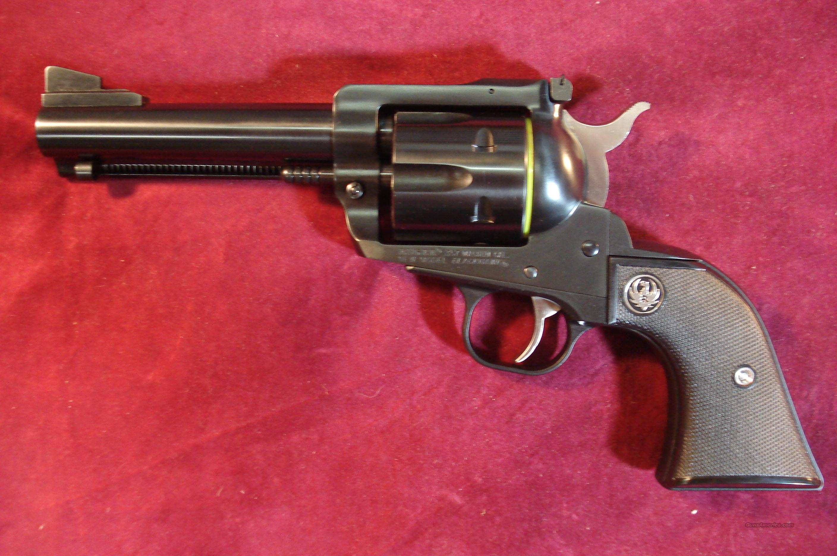 "RUGER BLACKHAWK 357MAG 4 5/8"" BLUE NEW (BN-34)  Guns > Pistols > Ruger Single Action Revolvers > Blackhawk Type"