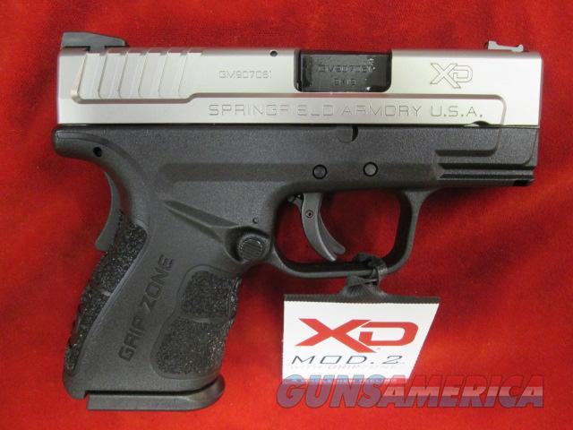 "SPRINGFIELD ARMORY XD MOD.2 9MM SUB COMPACT 3"" BI-TONE NEW  Guns > Pistols > Springfield Armory Pistols > XD (eXtreme Duty)"