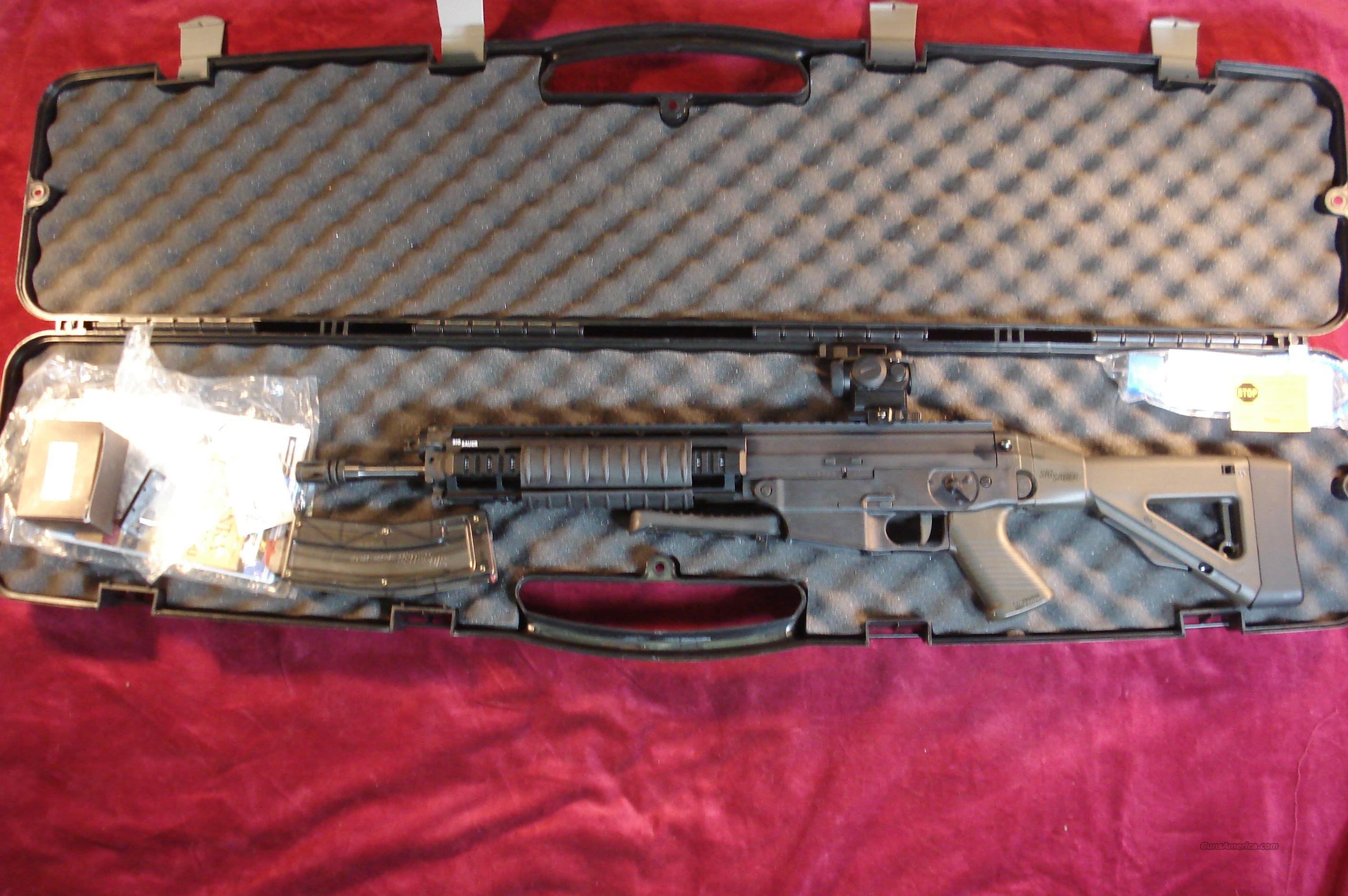 SIG SAUER 522 OD GREEN W/ RED DOT SIGHT USED  Guns > Rifles > Sig - Sauer/Sigarms Rifles