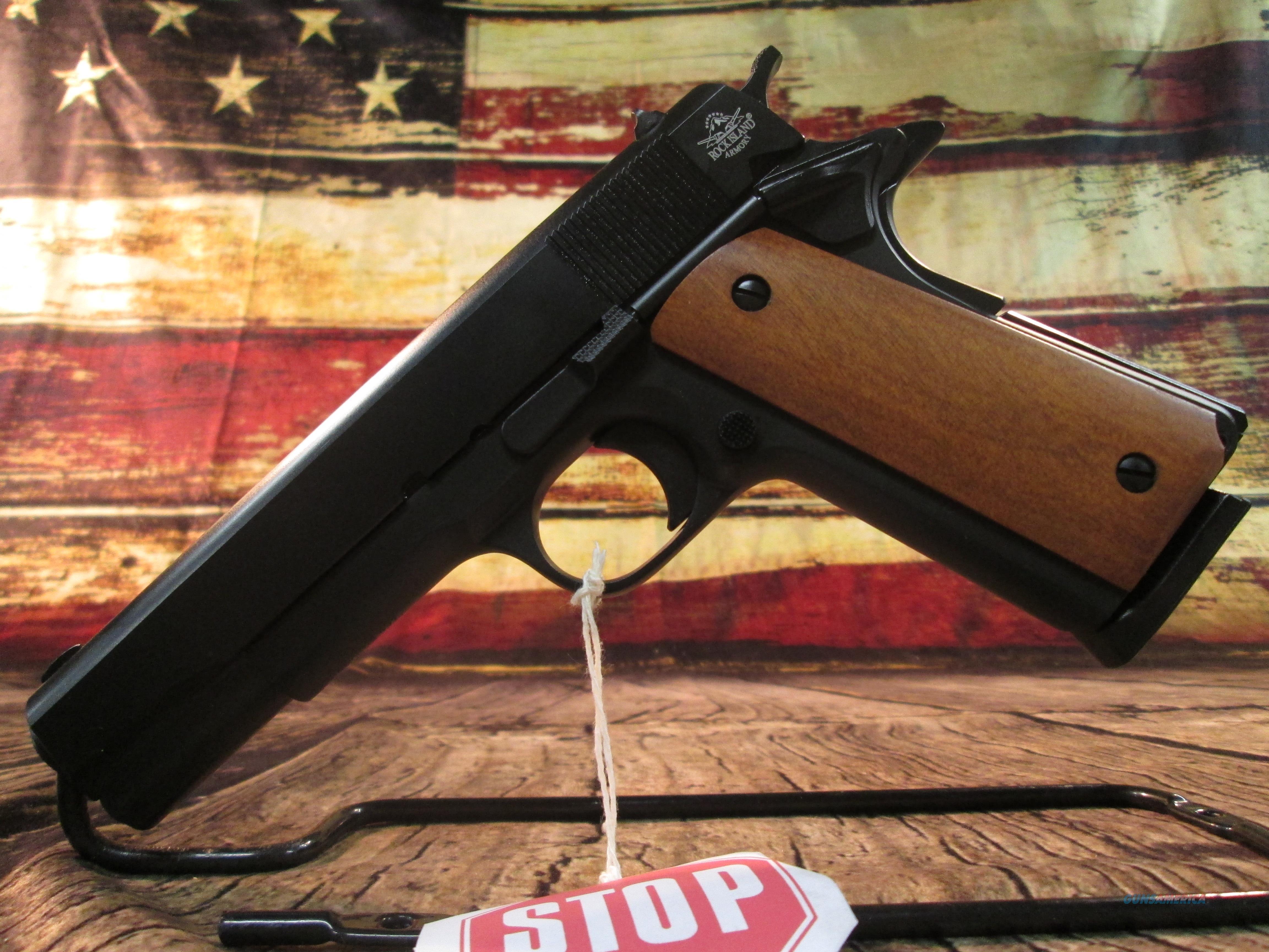 "Rock Island 45 ACP Standard GI 1911 5"" New  (51420)   Guns > Pistols > Rock Island Armory Pistols > Rock Island"