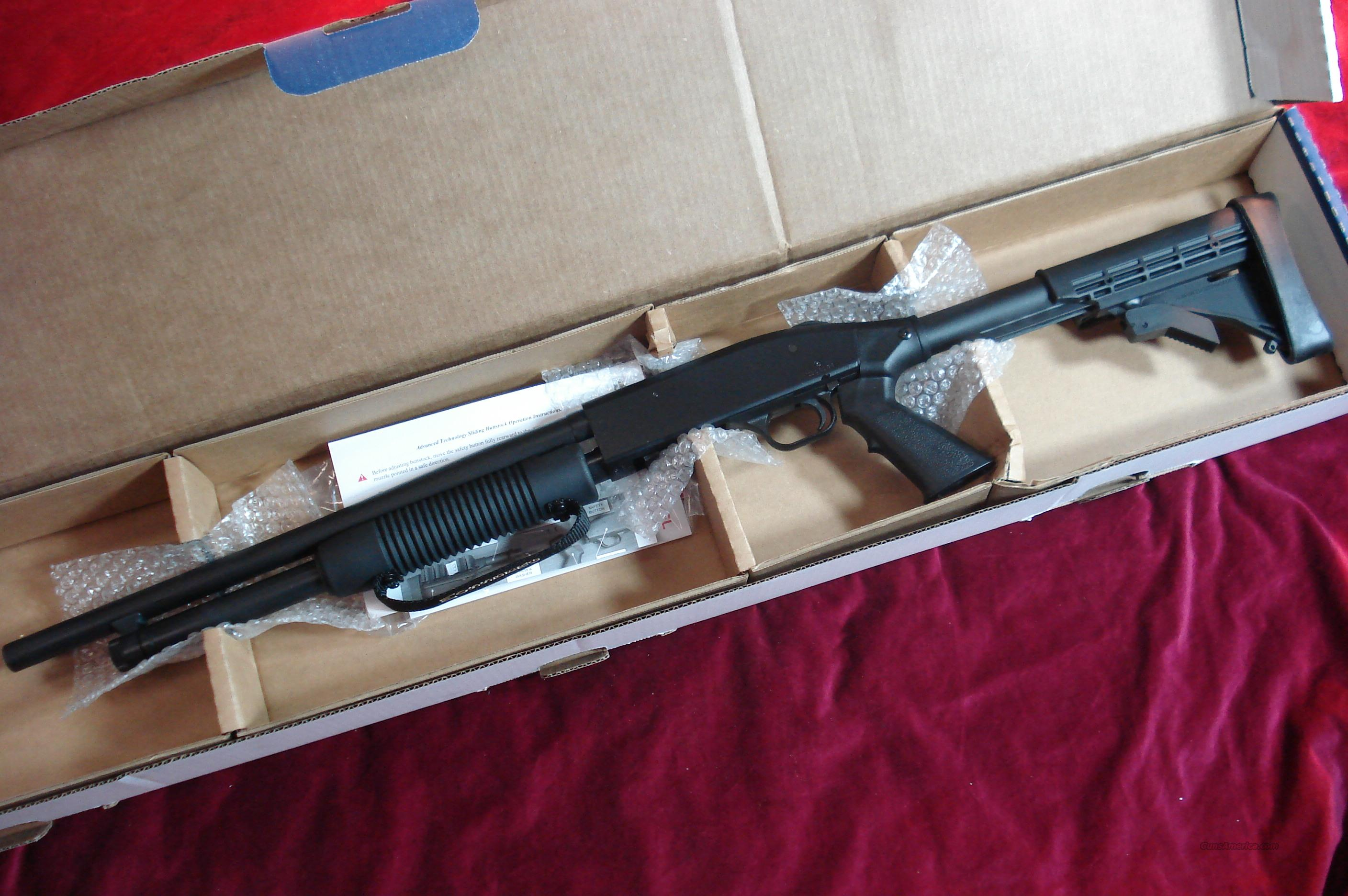 MOSSBERG 500 TACTICAL 12G NEW  Guns > Shotguns > Mossberg Shotguns > Pump > Tactical