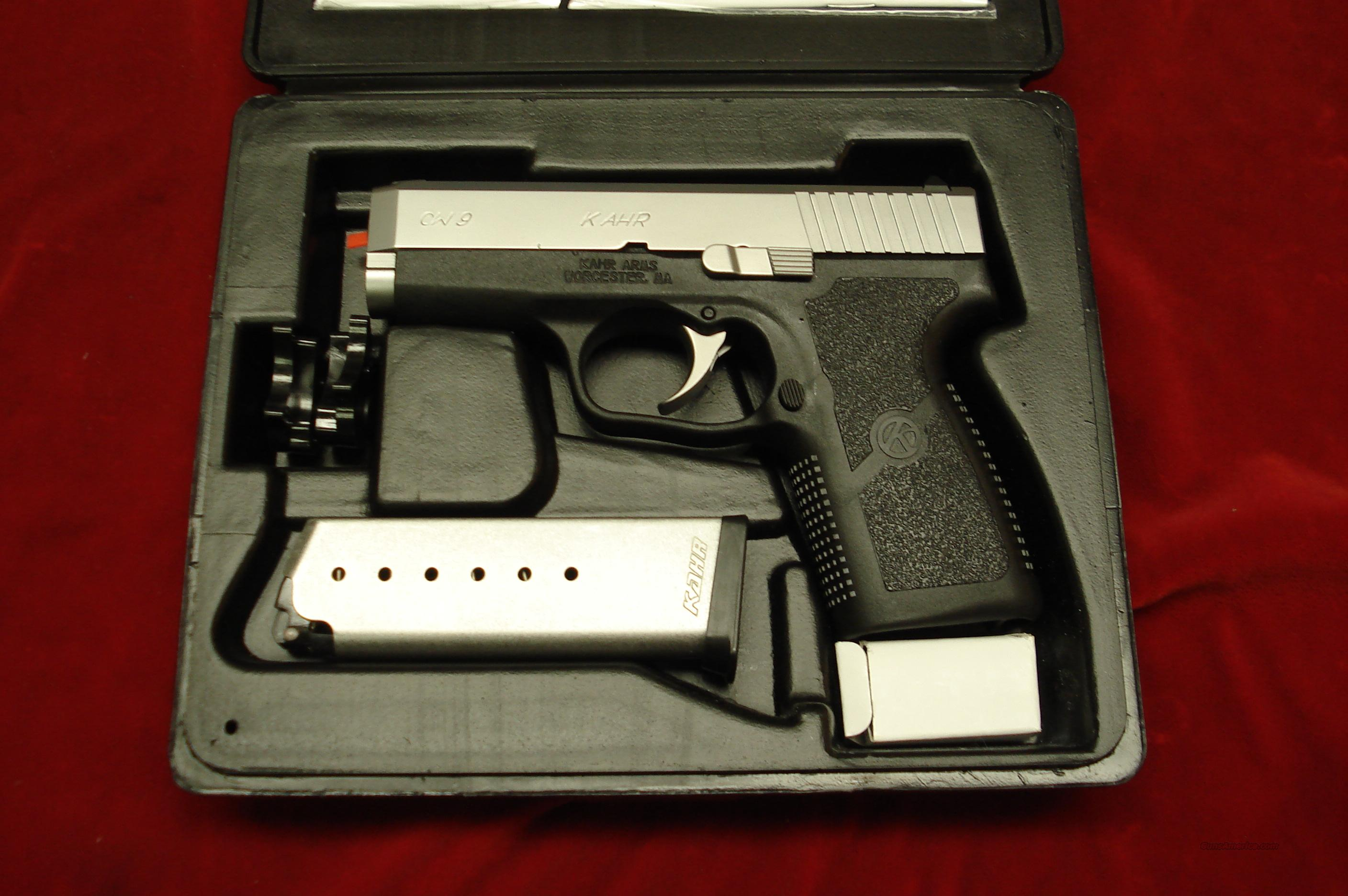 KAHR ARMS CW9 9MM STAINLESS NEW  Guns > Pistols > Kahr Pistols