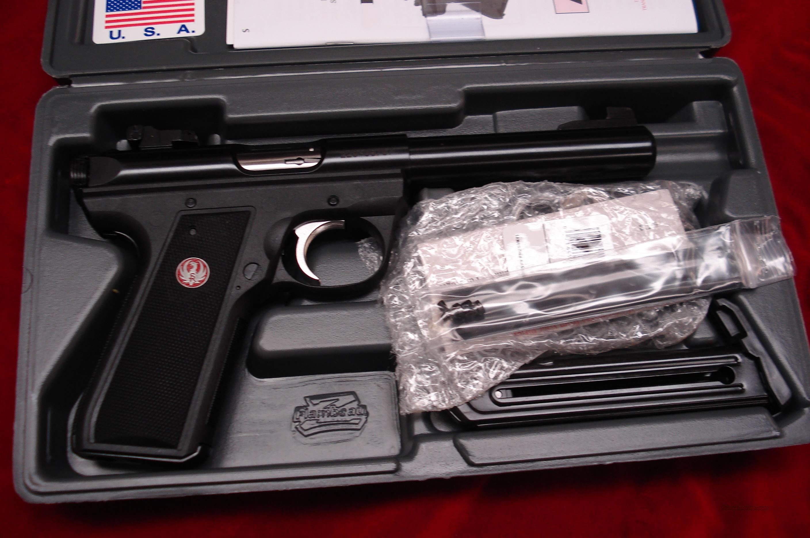 "RUGER 22/45 MKIII 5.5"" BULL NEW (P512MKIII)  Guns > Pistols > Ruger Semi-Auto Pistols > Mark I & II Family"