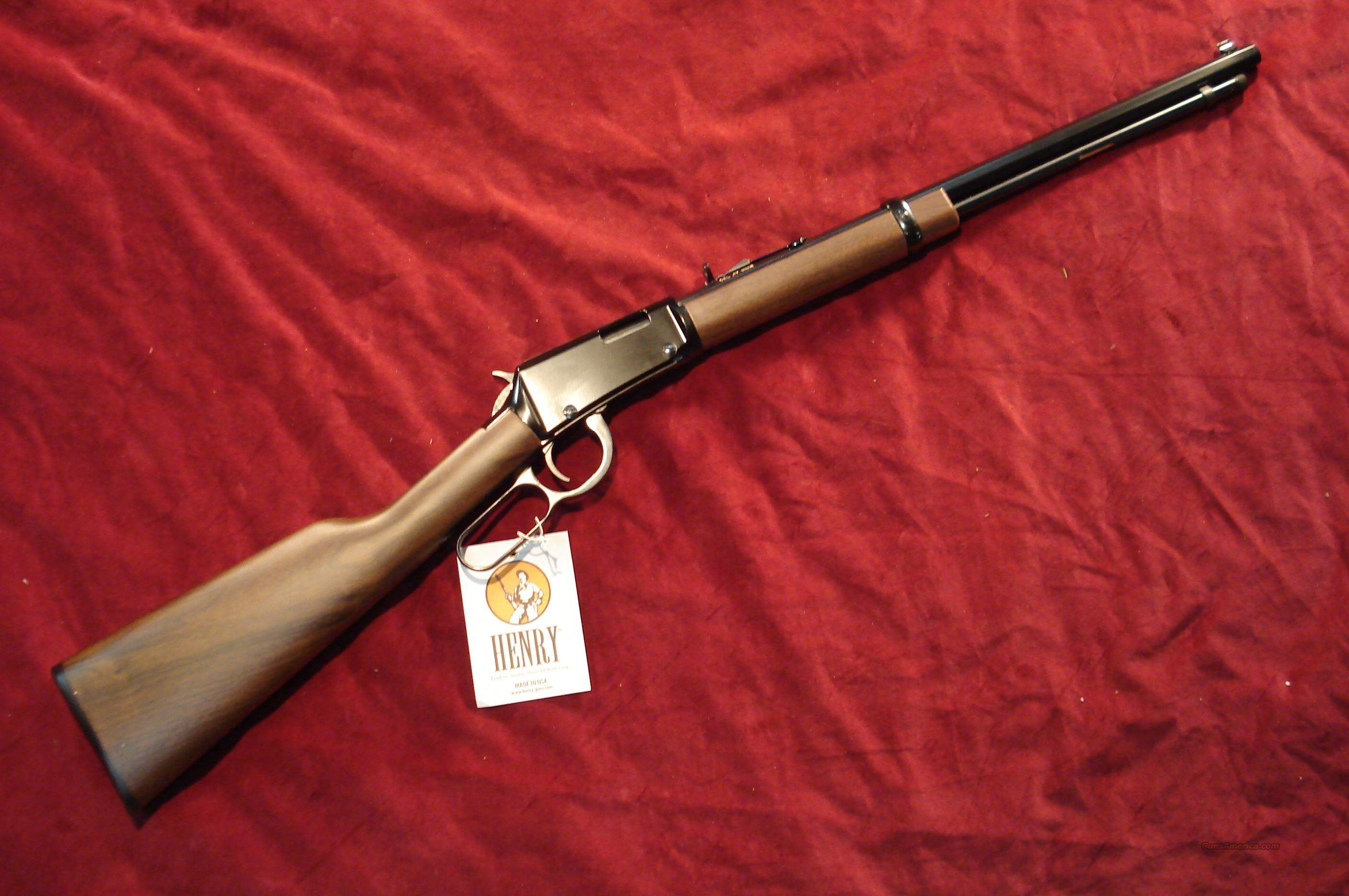 HENRY LEVER .17HMR OCT. BARREL NEW  Guns > Rifles > Henry Rifle Company