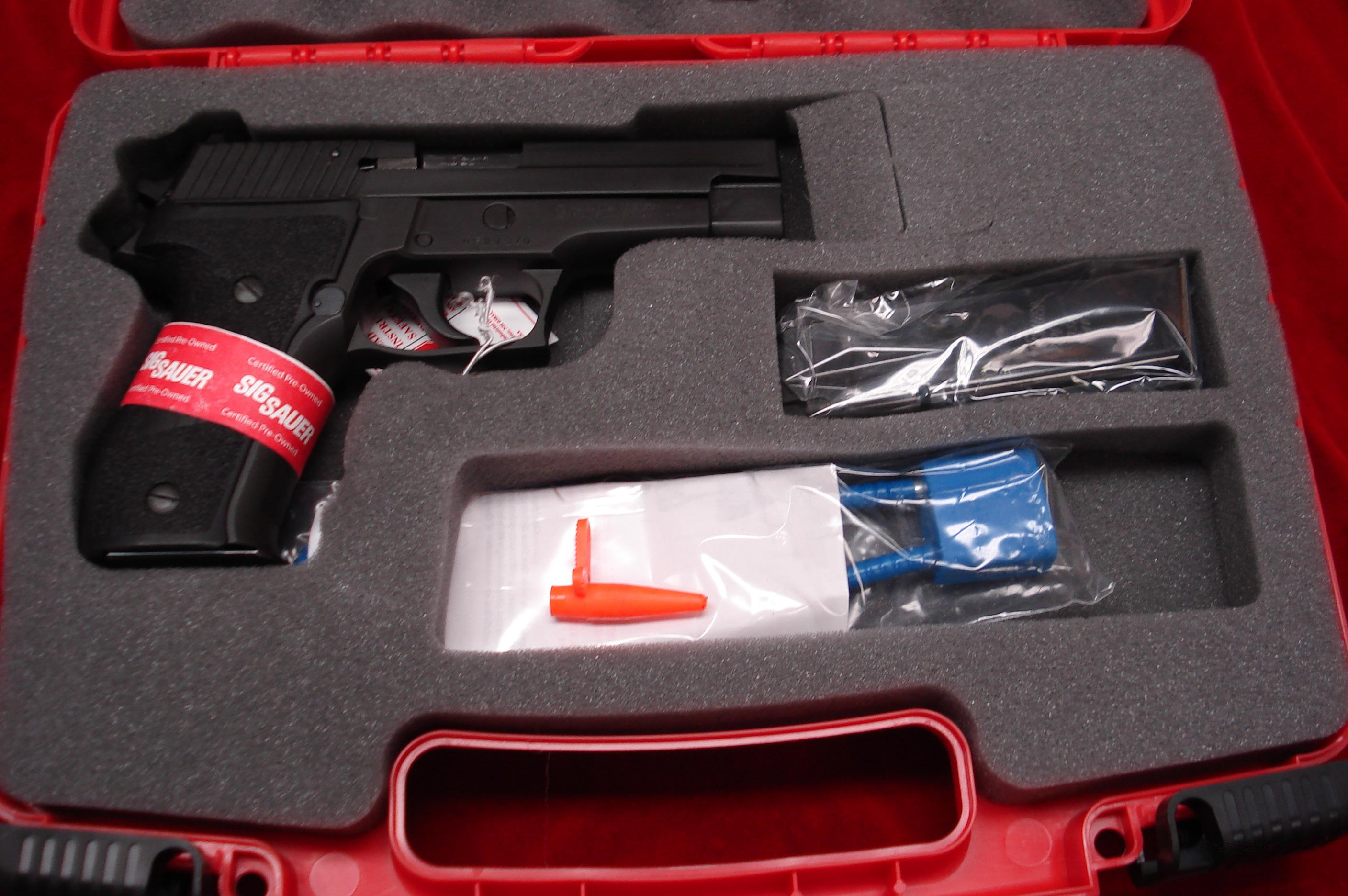 SIG SAUER P226 .40 CAL. CERTIFIED PREOWNED   Guns > Pistols > Sig - Sauer/Sigarms Pistols > P226