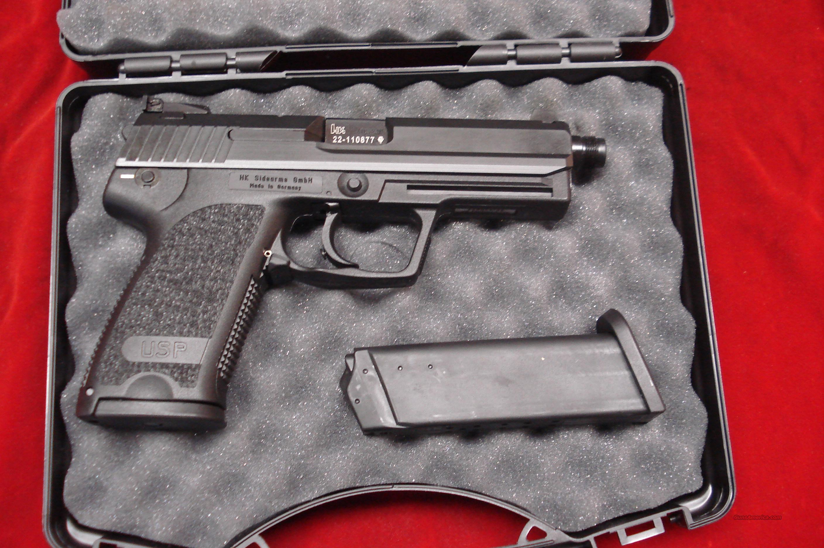 HK USP TACTICAL 40CAL. THREADED BARREL NEW  Guns > Pistols > Heckler & Koch Pistols > Polymer Frame