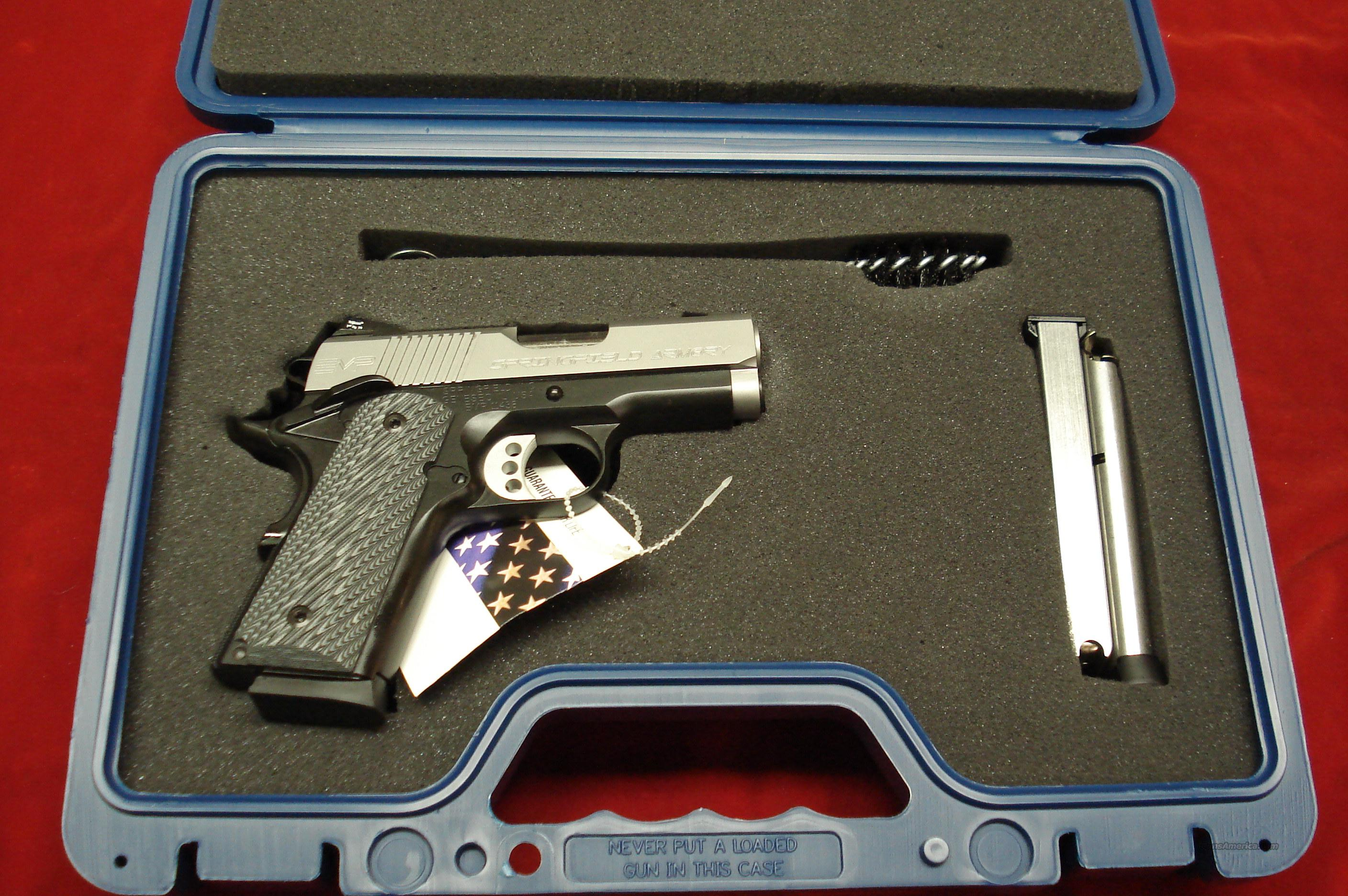 SPRINGFIELD ARMORY EMP MICRO-COMP. 40CAL WITH G10 GRIPS (PI9241LP) NEW  Guns > Pistols > Springfield Armory Pistols > 1911 Type