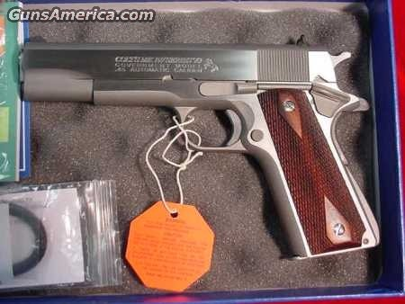 COLT GOV'T MODEL STAINLESS 45ACP SERIES 70 NEW  Guns > Pistols > Colt Automatic Pistols (1911 & Var)