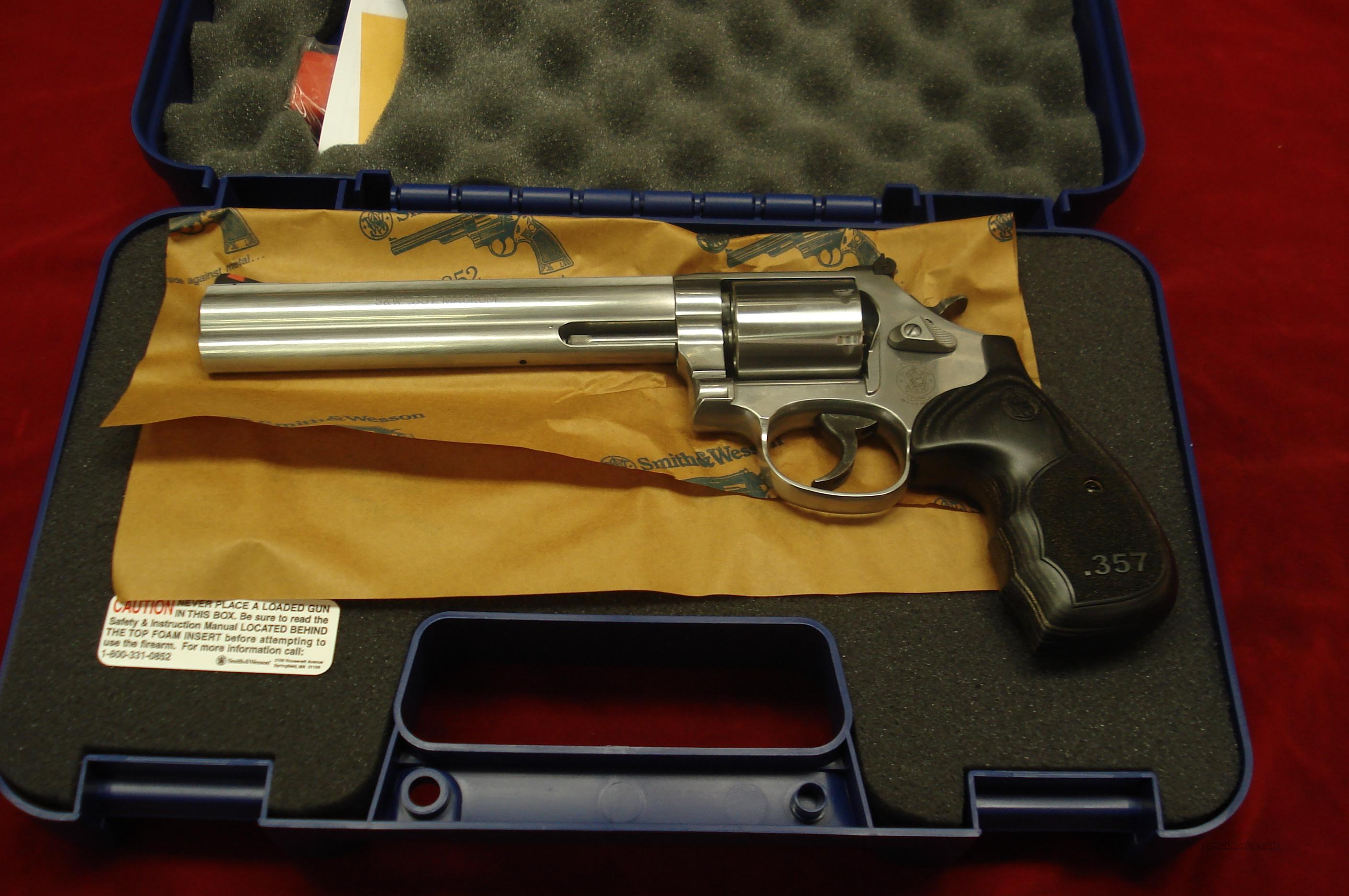 "SMITH AND WESSON MODEL 686 DELUXE 7"" 357MAG STAINLESS NEW  Guns > Pistols > Smith & Wesson Revolvers > Full Frame Revolver"