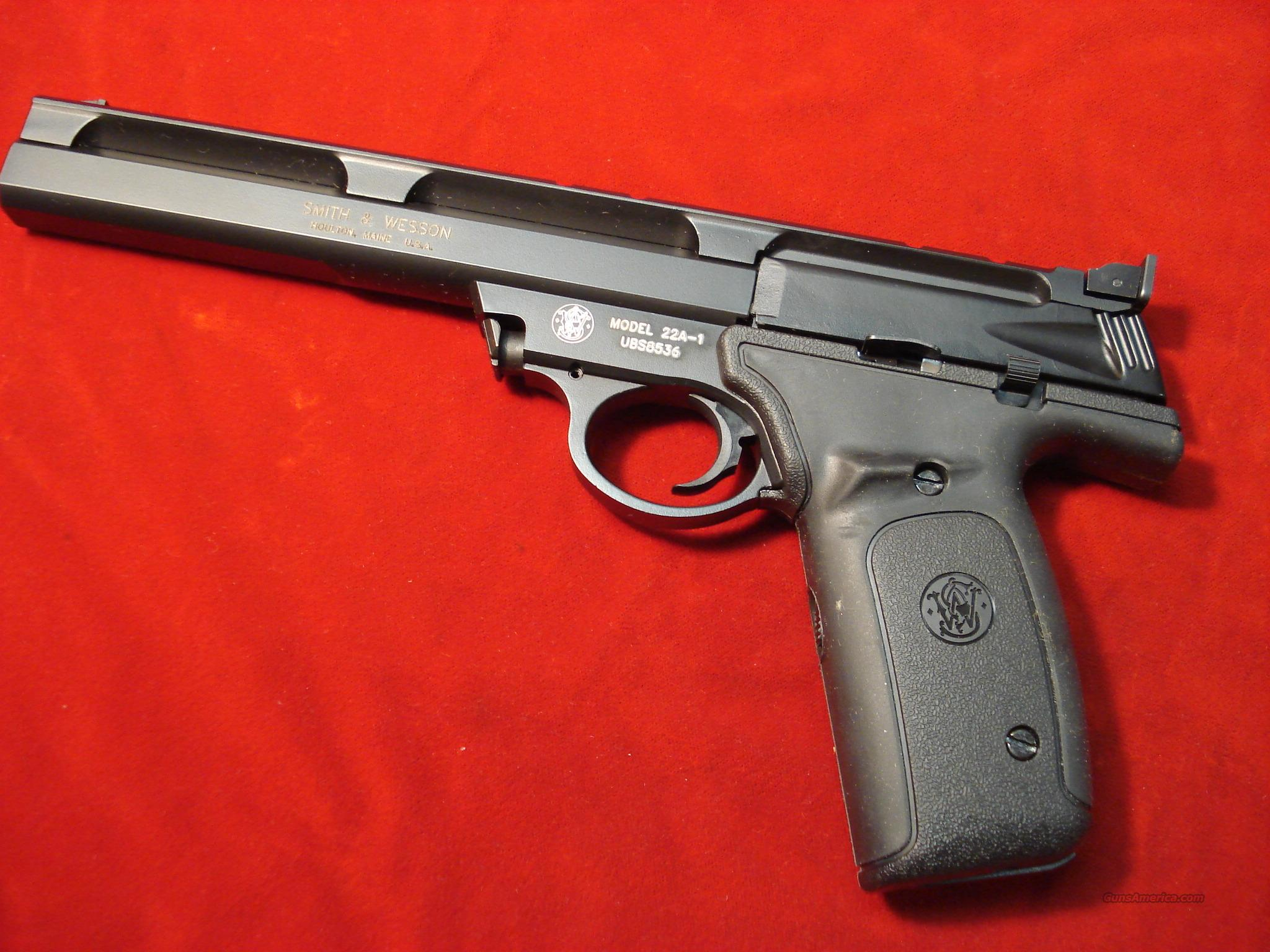 "SMITH AND WESSON 22A 22LR. 7"" NEW  Guns > Pistols > Smith & Wesson Pistols - Autos > Alloy Frame"