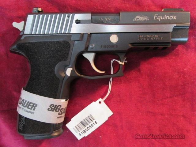 SIG SAUER 227 EQUINOX STAINLESS 2 TONE W/ FACTORY NIGHT SIGHTS NEW  Guns > Pistols > Sig - Sauer/Sigarms Pistols > Other