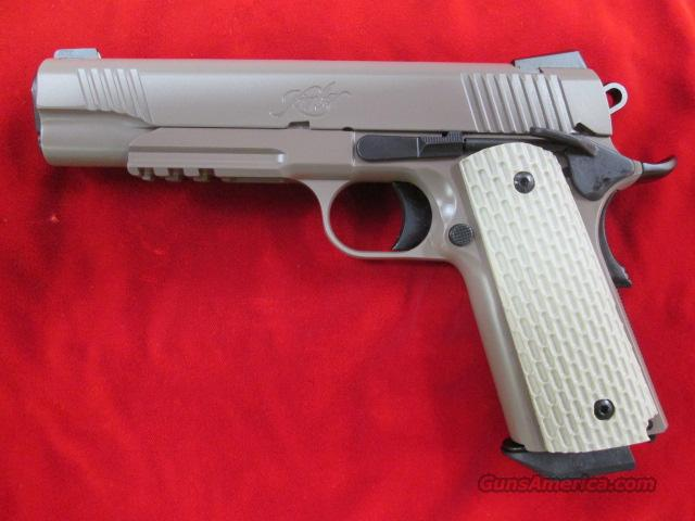 KIMBER DESERT WARRIOR 45ACP W/NIGHT SIGHTS NEW    (3000126)    Guns > Pistols > Kimber of America Pistols
