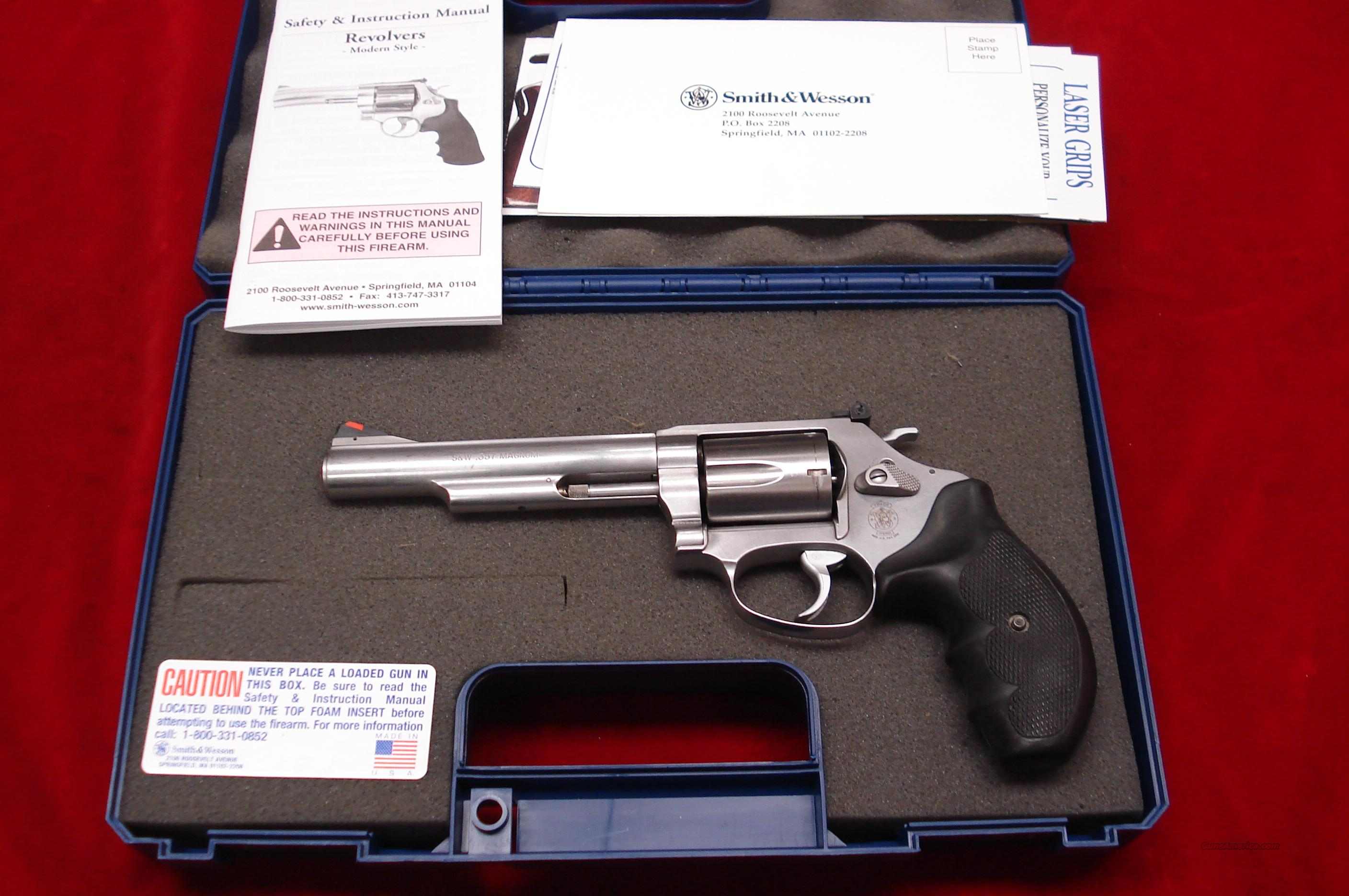 "SMITH AND WESSON MODEL MODEL 60 357MAG 5"" STAINLESS USED  Guns > Pistols > Smith & Wesson Revolvers > Full Frame Revolver"