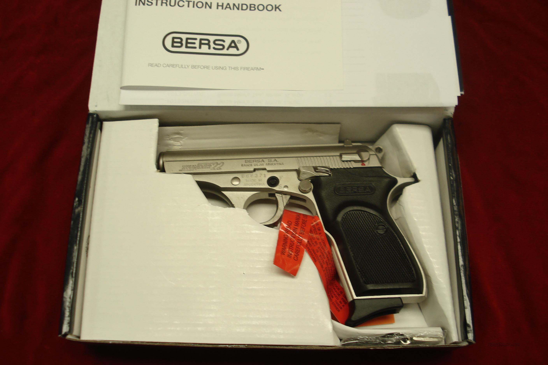 BERSA THUNDER 22cal NICKEL NEW  Guns > Pistols > Bersa Pistols
