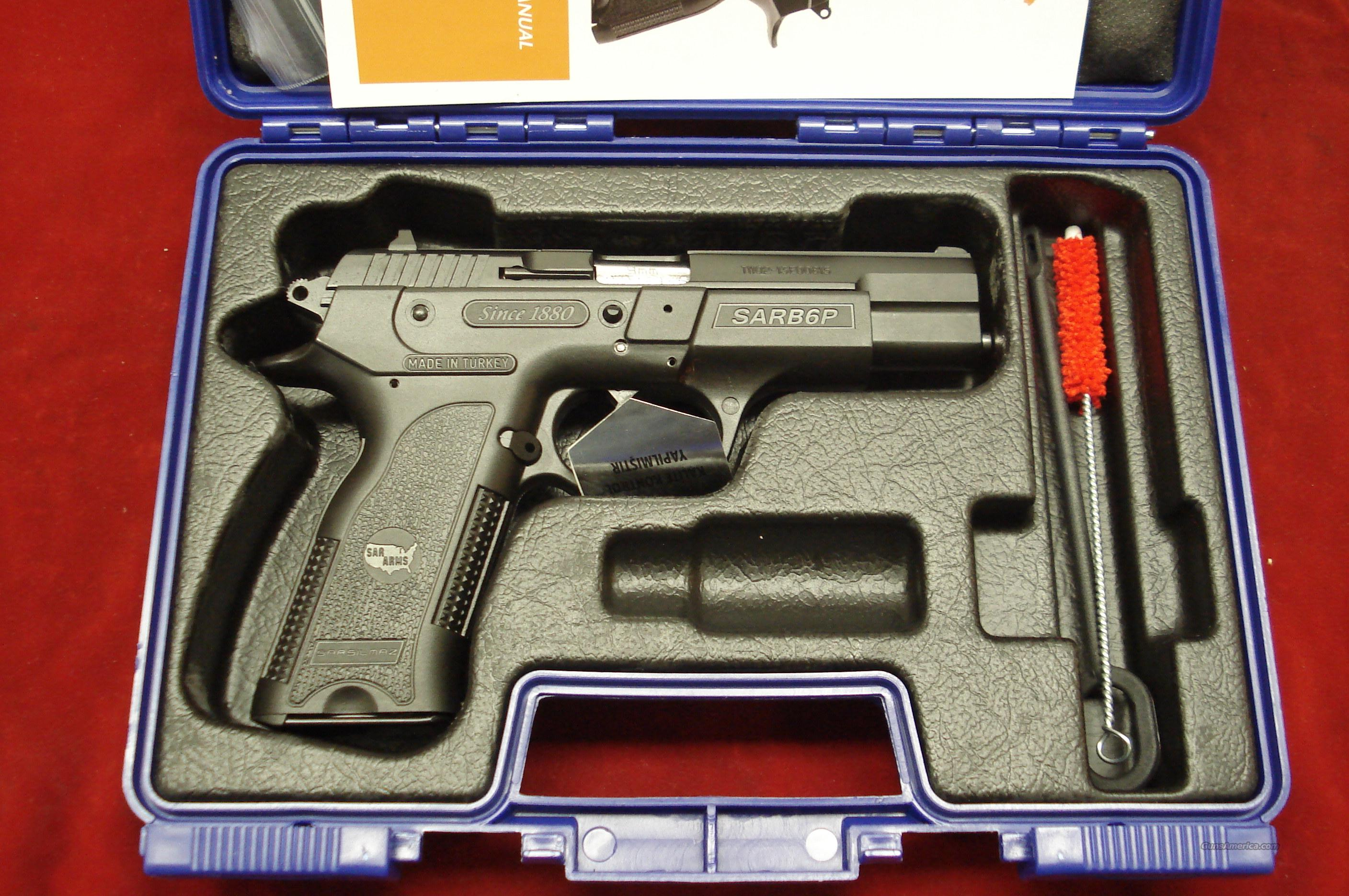 EAA SAR B6P HIGH CAPACITY 9MM NEW  Guns > Pistols > EAA Pistols > Other