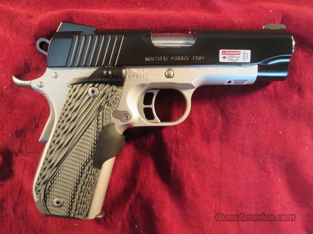 KIMBER MASTER CARRY PRO 45ACP W/ CRIMSON TRACE LASER GRIPS NEW  Guns > Pistols > Kimber of America Pistols