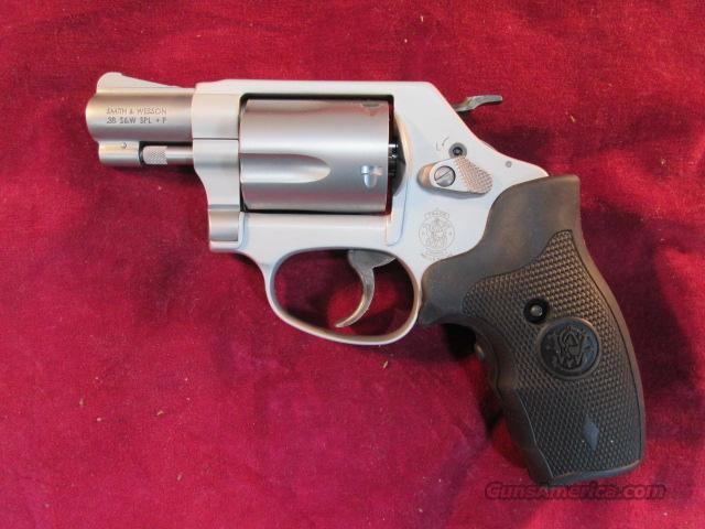 SMITH AND WESSON MODEL 637 STAINLESS AIRWEIGHT 38+P W/ CRIMSON TRACE LASER NEW  Guns > Pistols > Smith & Wesson Revolvers > Pocket Pistols
