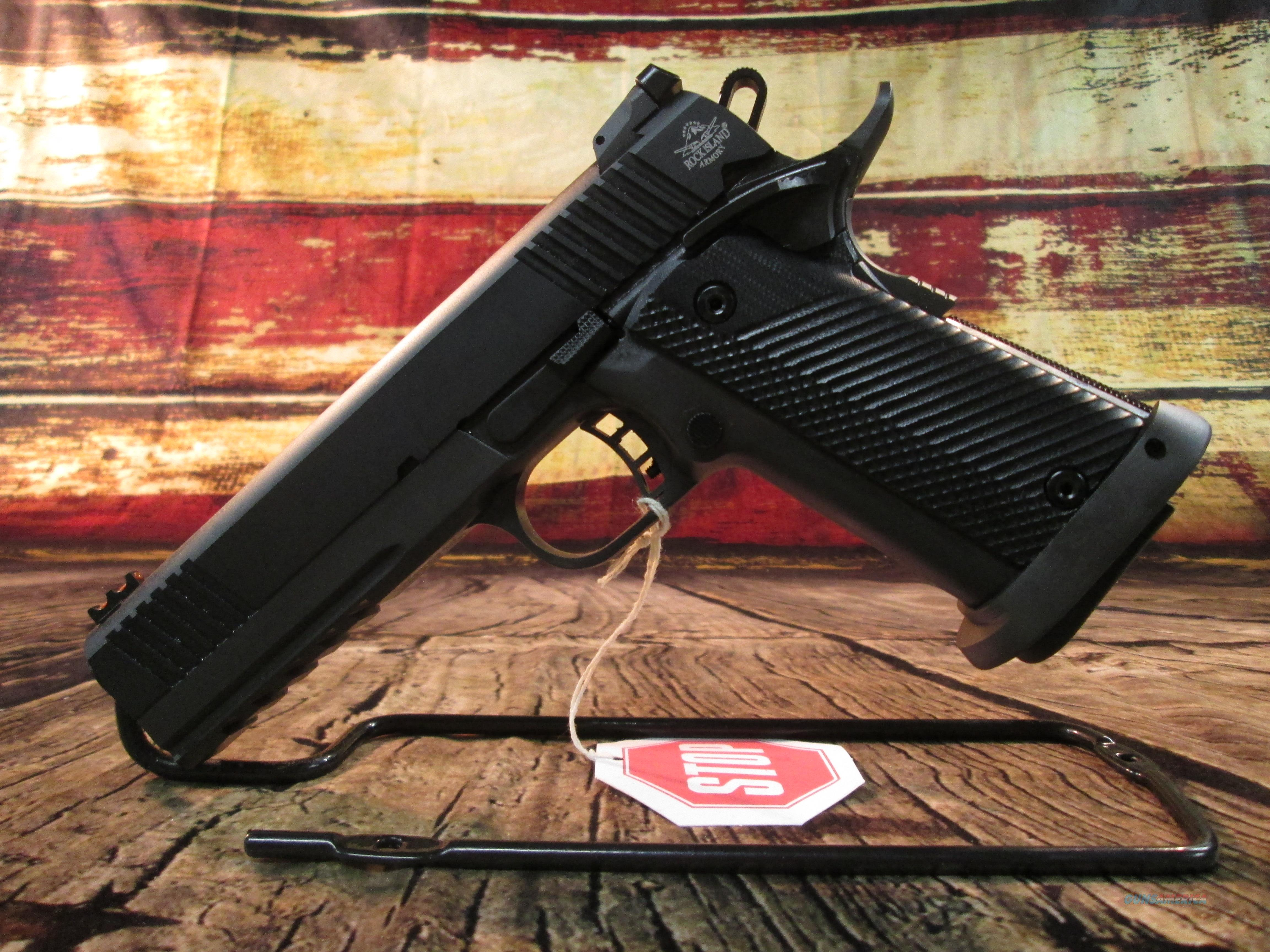 ROCK ISLAND TAC ULTRA 45 ACP NEW (51567)  Guns > Pistols > Armscor Pistols > Rock Island