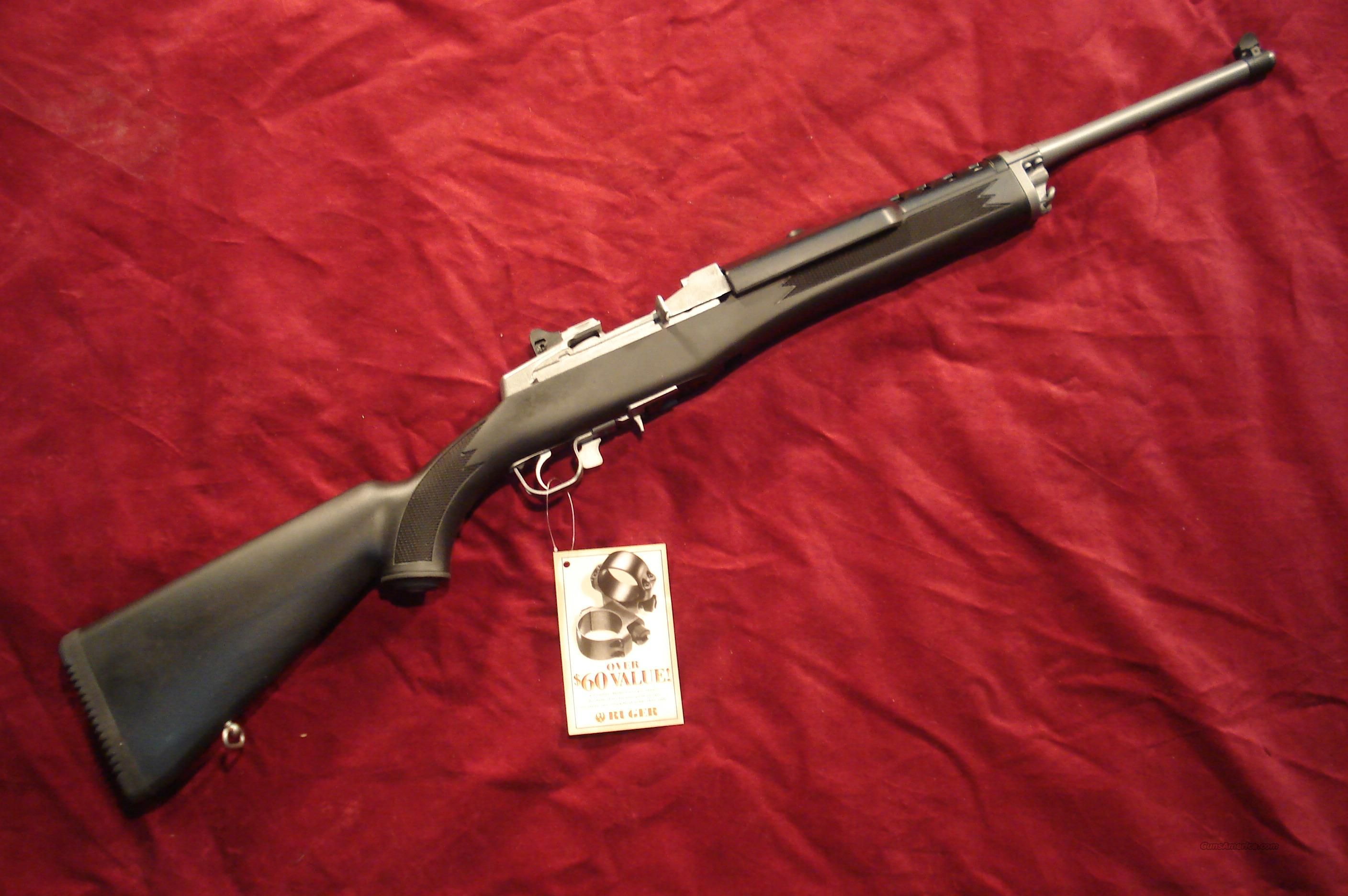 RUGER ALL WEATHER MINI 30 STAINLESS RANCH NEW  Guns > Rifles > Ruger Rifles > Mini-14 Type