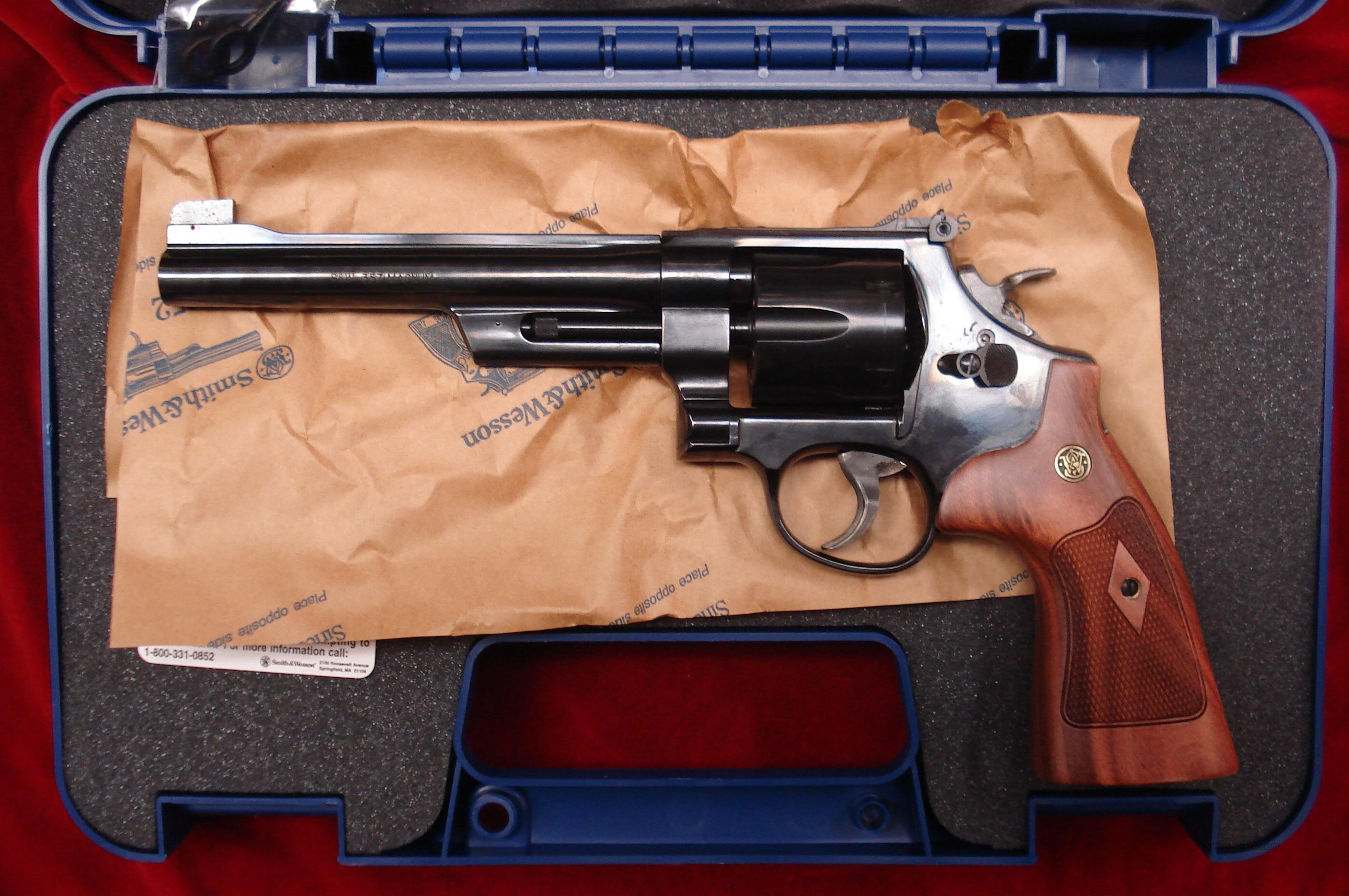 "SMITH AND WESSON MODEL 27 CLASSIC BLUE 357MAG 6.5"" NEW  Guns > Pistols > Smith & Wesson Revolvers > Full Frame Revolver"