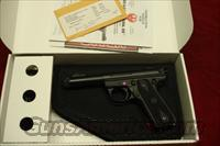 "RUGER 22/45 MKIII 4.5"" THREADED BULL NEW (P45GMK3RPI)  Ruger Semi-Auto Pistols > Mark I & II Family"