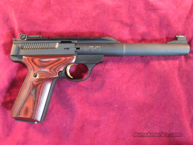 "BROWNING BUCKMARK HUNTER 7.25"" COCOBOLO GRIPS NEW  Guns > Pistols > Browning Pistols > Buckmark"