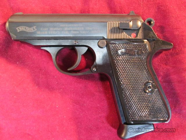 WALTHER PPK/S 380 CAL. BLUE NEW   Guns > Pistols > Walther Pistols > Post WWII > PPK Series