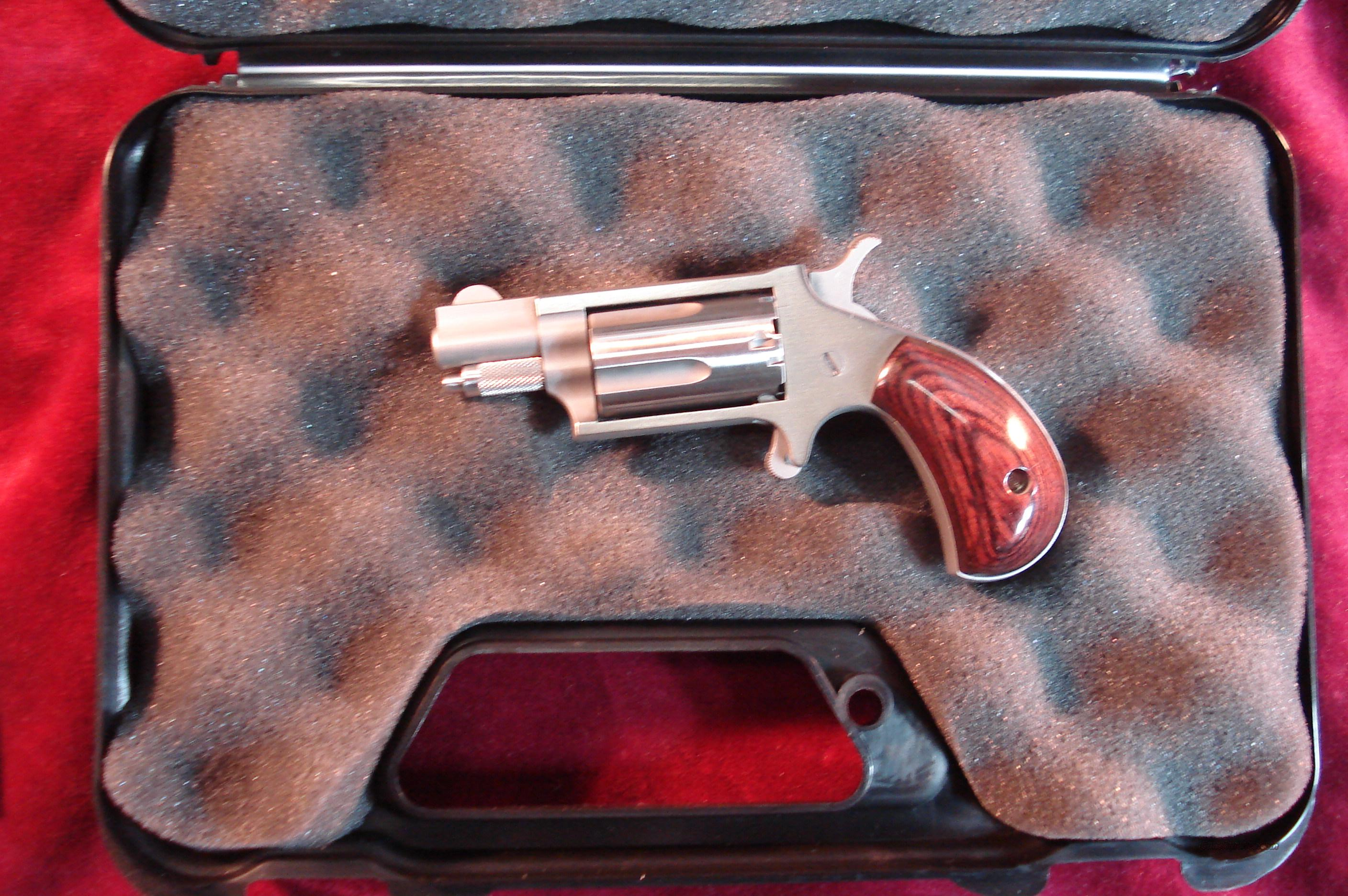 NORTH AMERICAN ARMS 22MS STAINLESS 22 MAGNUM DERINGER NEW  Guns > Pistols > North American Arms Pistols