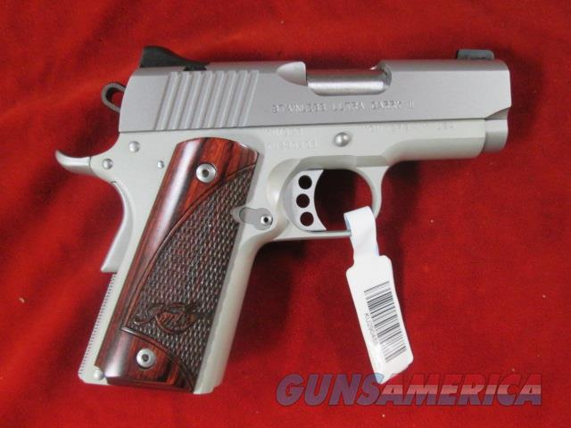 KIMBER STAINLESS ULTRA CARRY II 45ACP (2016) NEW  Guns > Pistols > Kimber of America Pistols