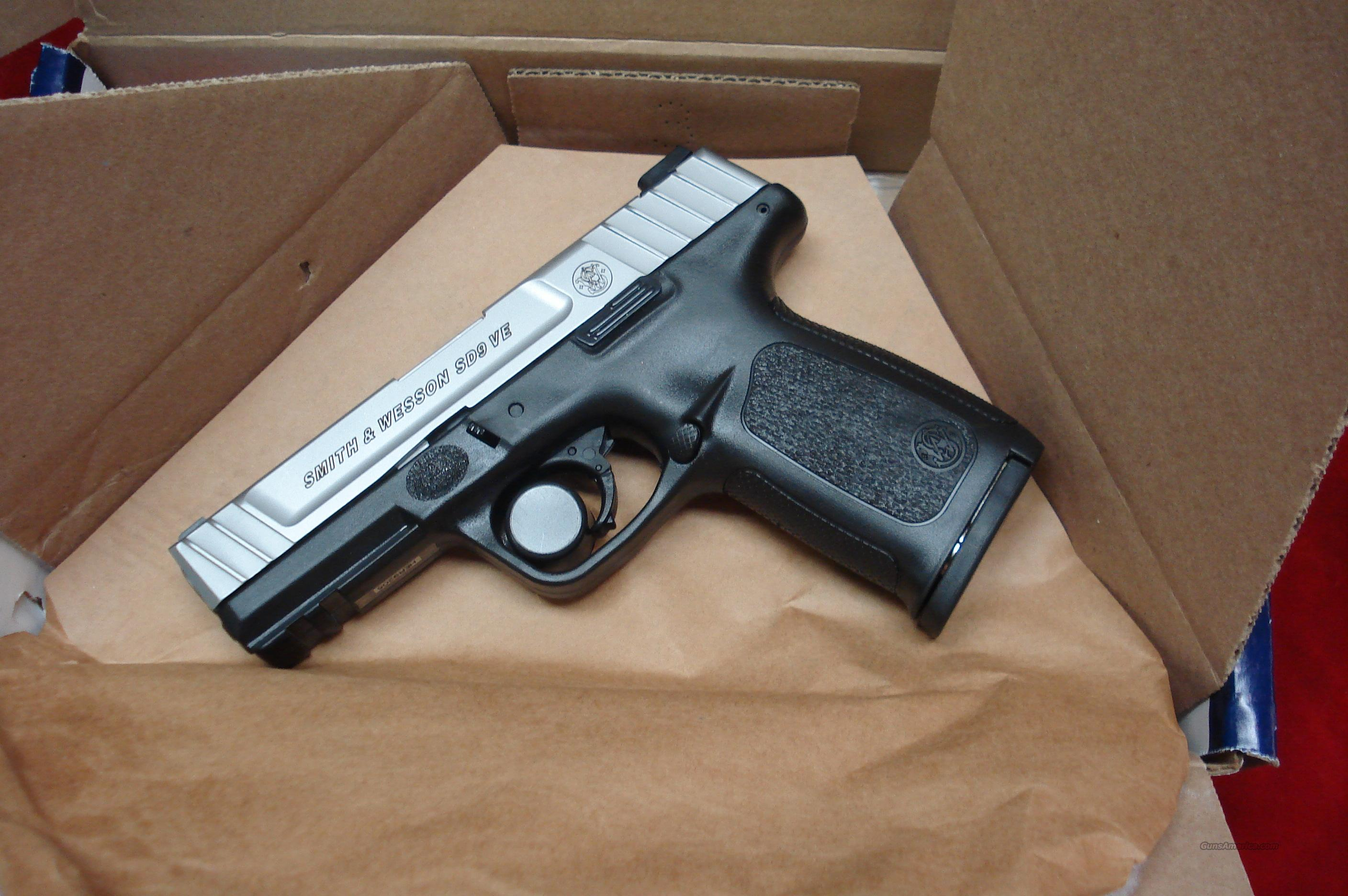 SMITH AND WESSON SD9VE (SELF DEFENSE PISTOL) 9MM  NEW   Guns > Pistols > Smith & Wesson Pistols - Autos > Polymer Frame