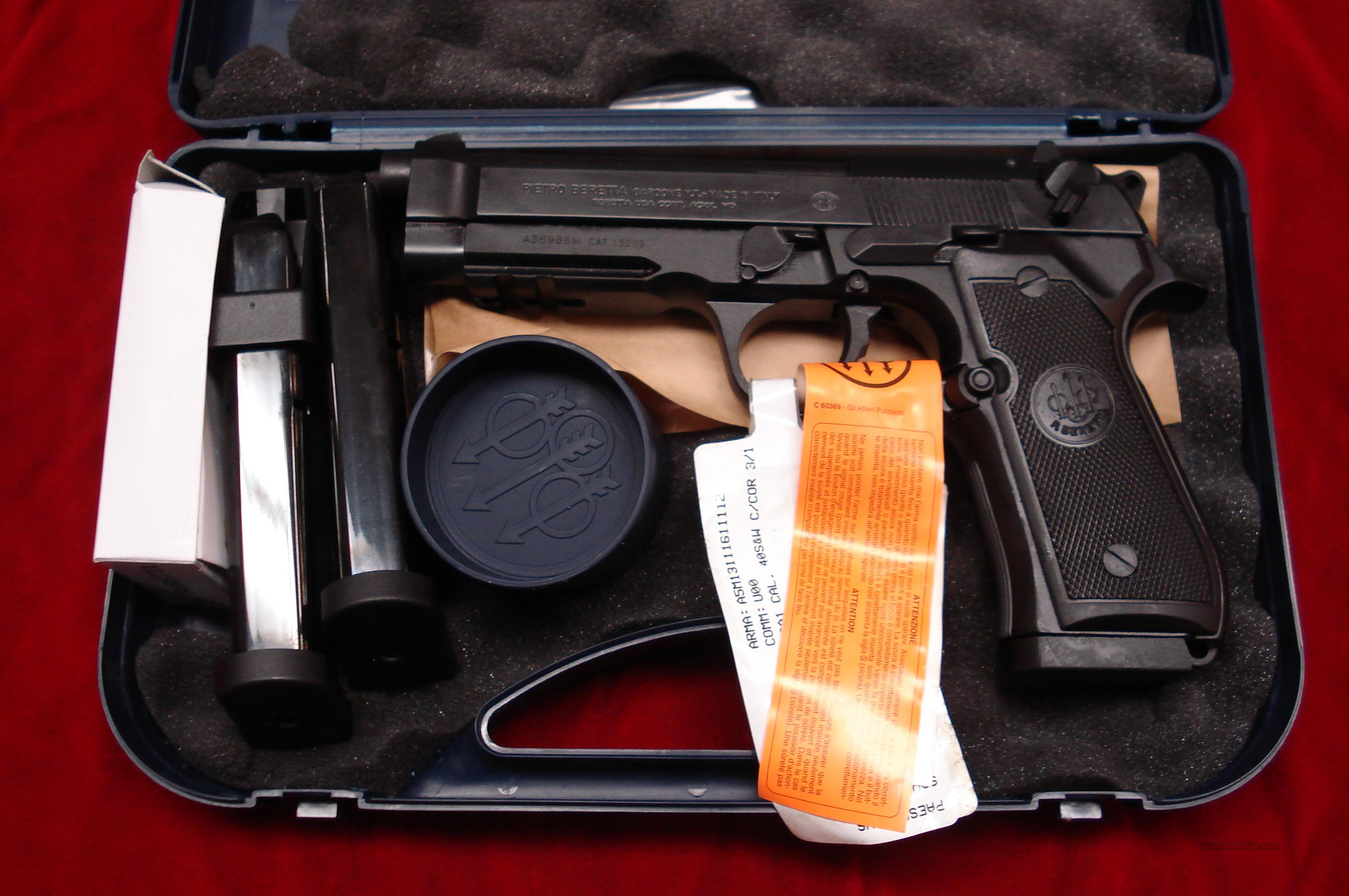 BERETTA 96A1 40CAL. NEW IN THE BOX  Guns > Pistols > Beretta Pistols > Model 92 Series