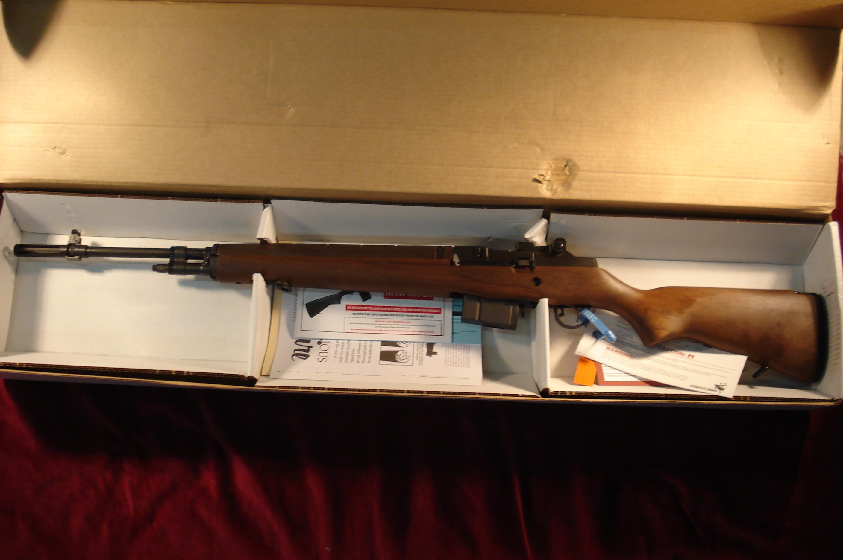 SPRINGFIELD MIA LOADED WALNUT NEW  Guns > Rifles > Springfield Armory Rifles > M1A/M14